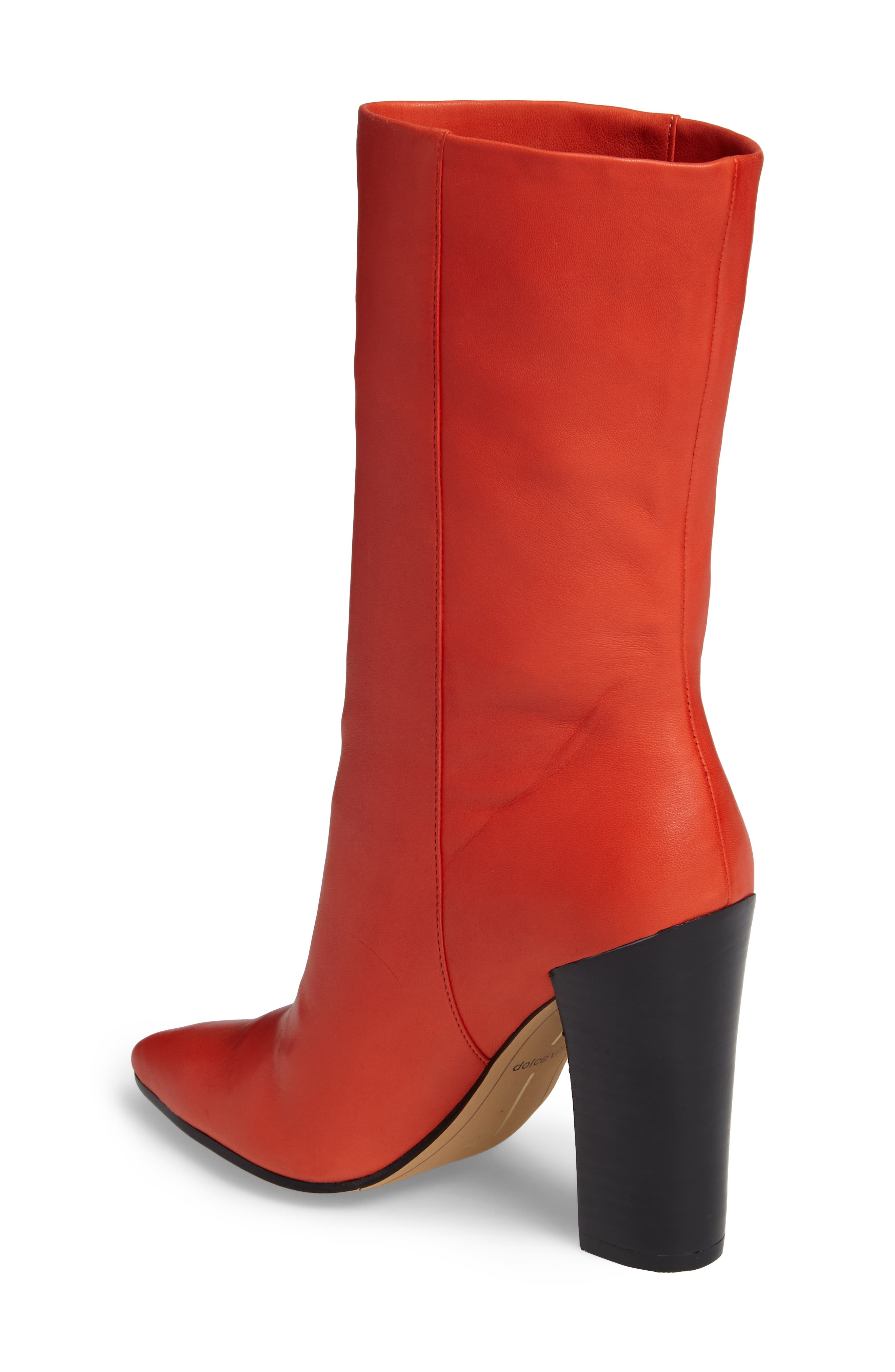 Ethan Pointy Toe Bootie,                             Alternate thumbnail 7, color,