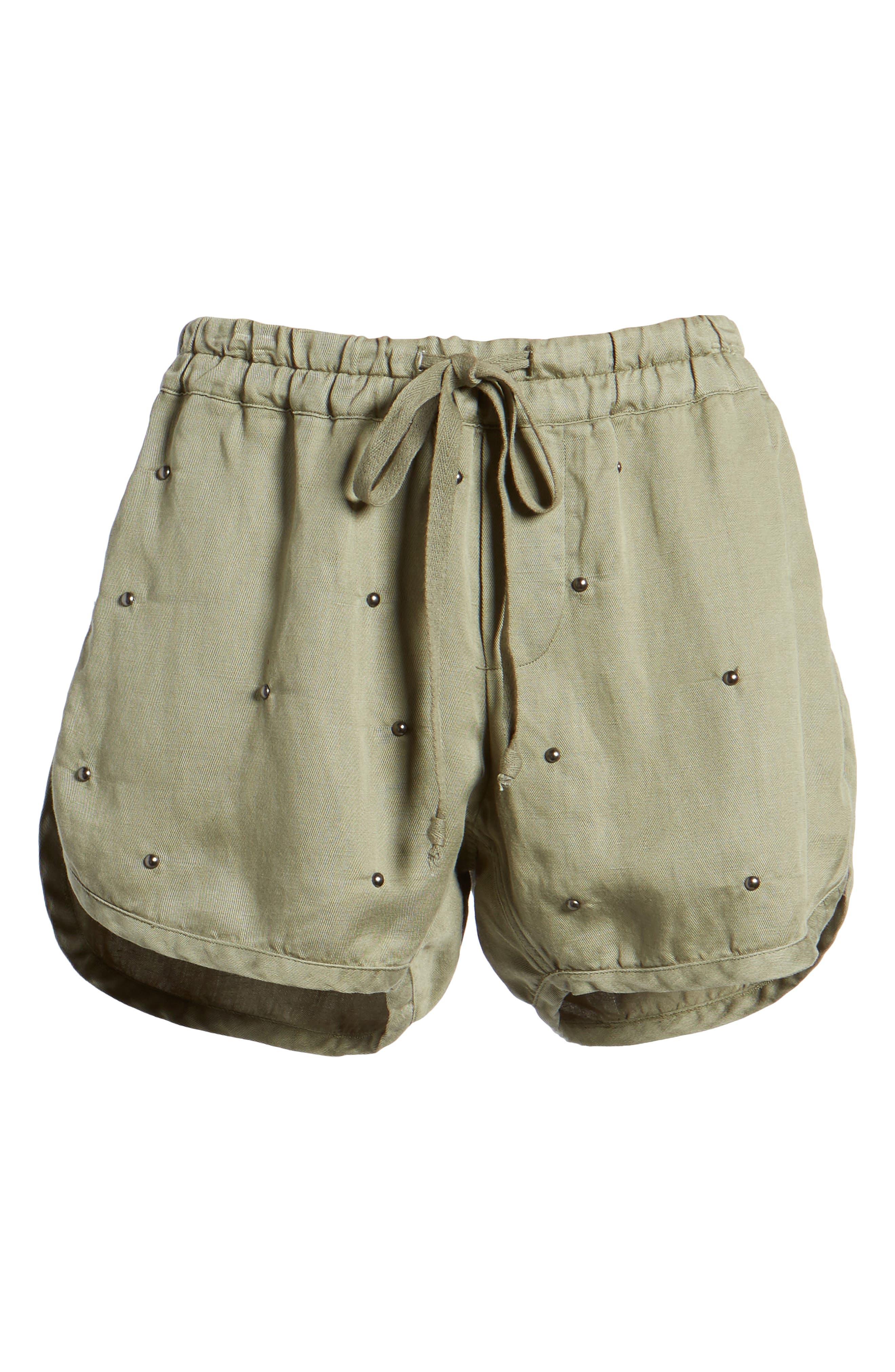 Thatcher Drawstring Shorts,                             Alternate thumbnail 6, color,                             307