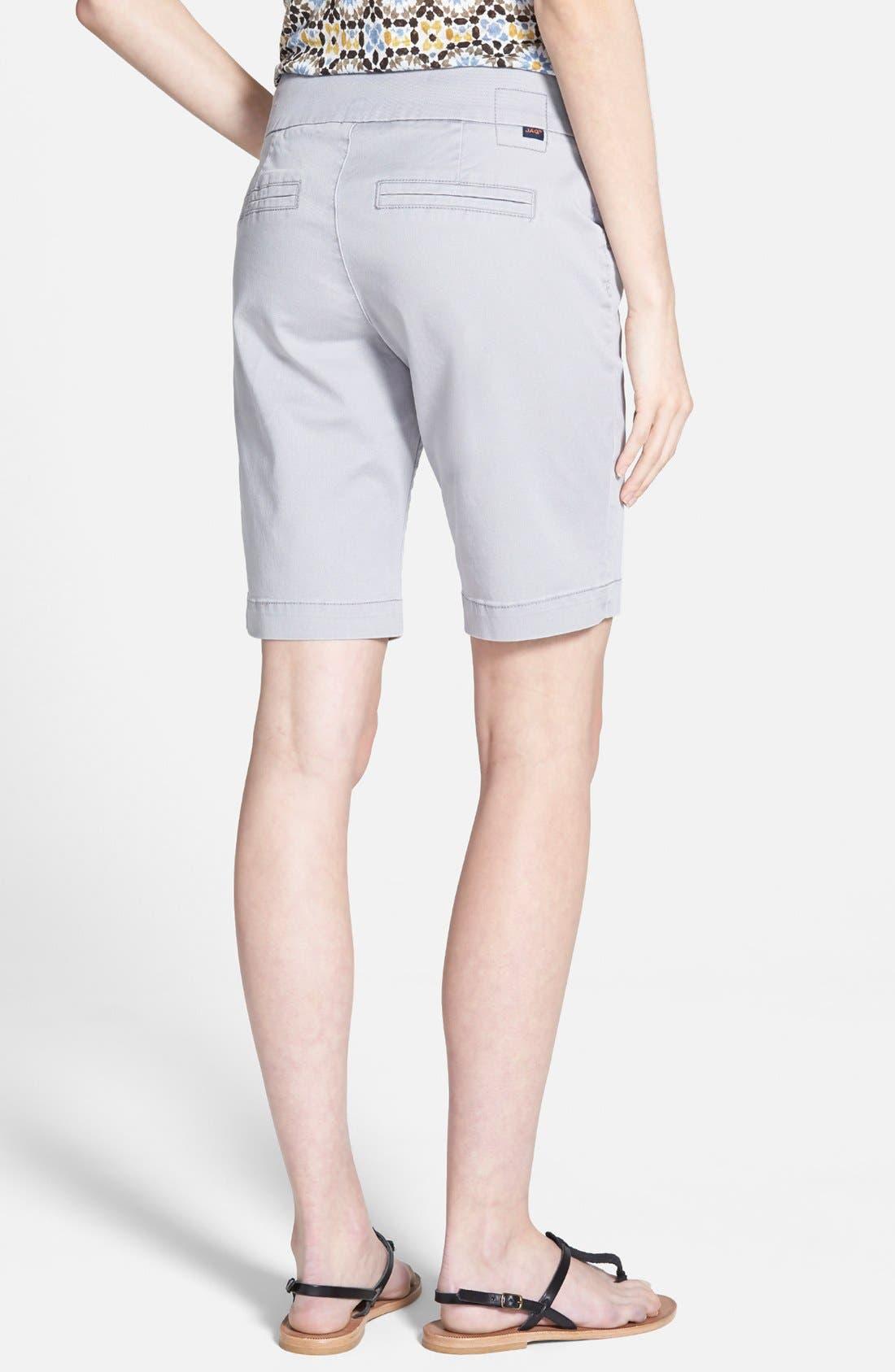 'Ainsley' Slim Bermuda Shorts,                             Alternate thumbnail 15, color,
