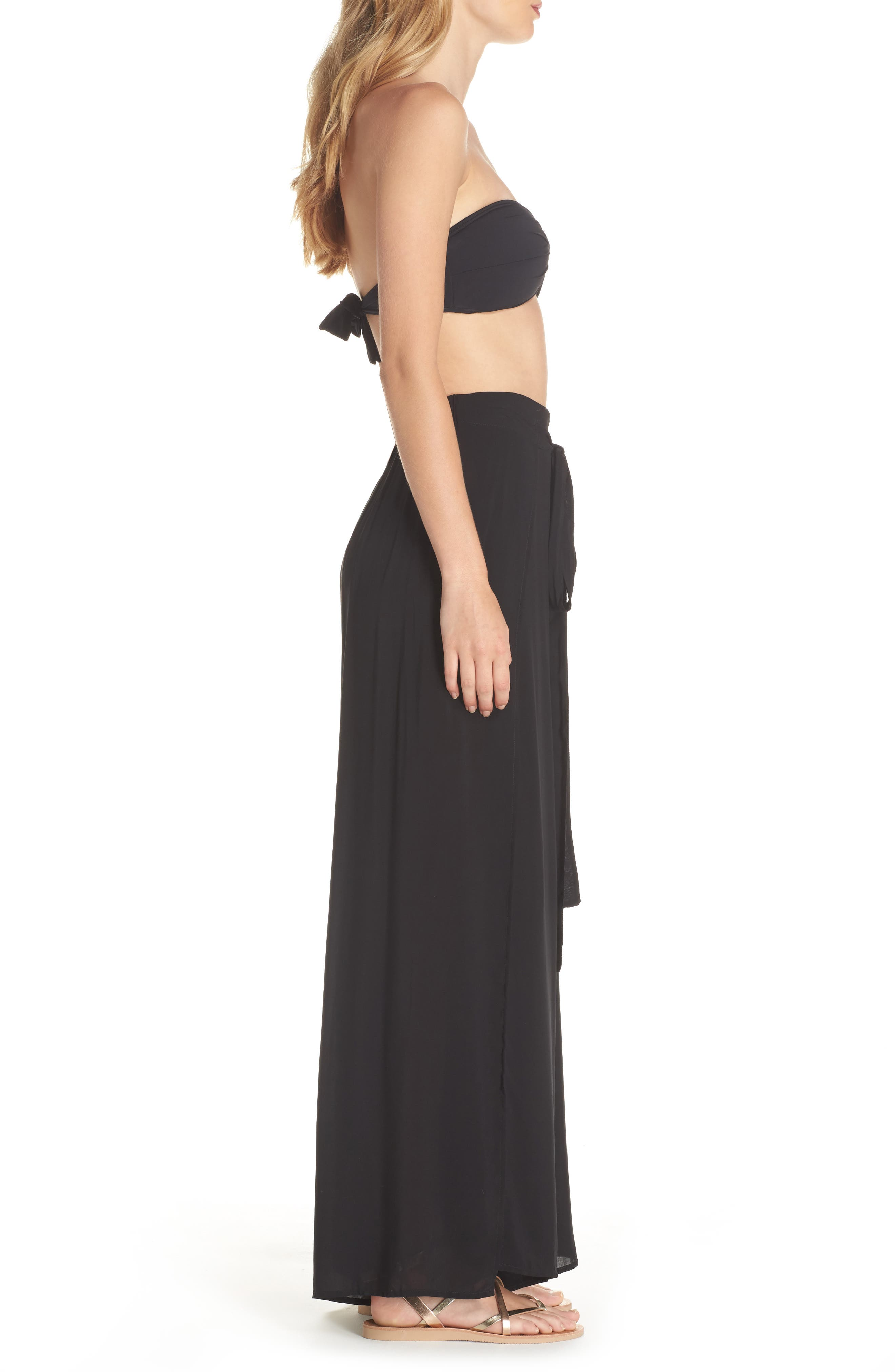 Cover-Up Flyaway Pants,                             Alternate thumbnail 3, color,                             001