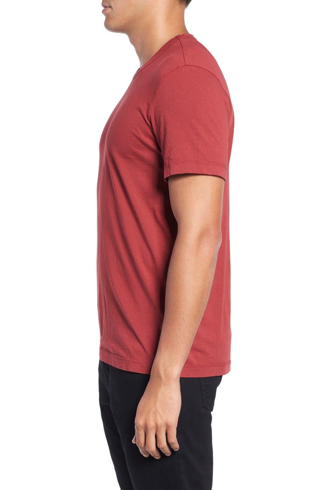Crewneck Jersey T-Shirt,                             Alternate thumbnail 416, color,