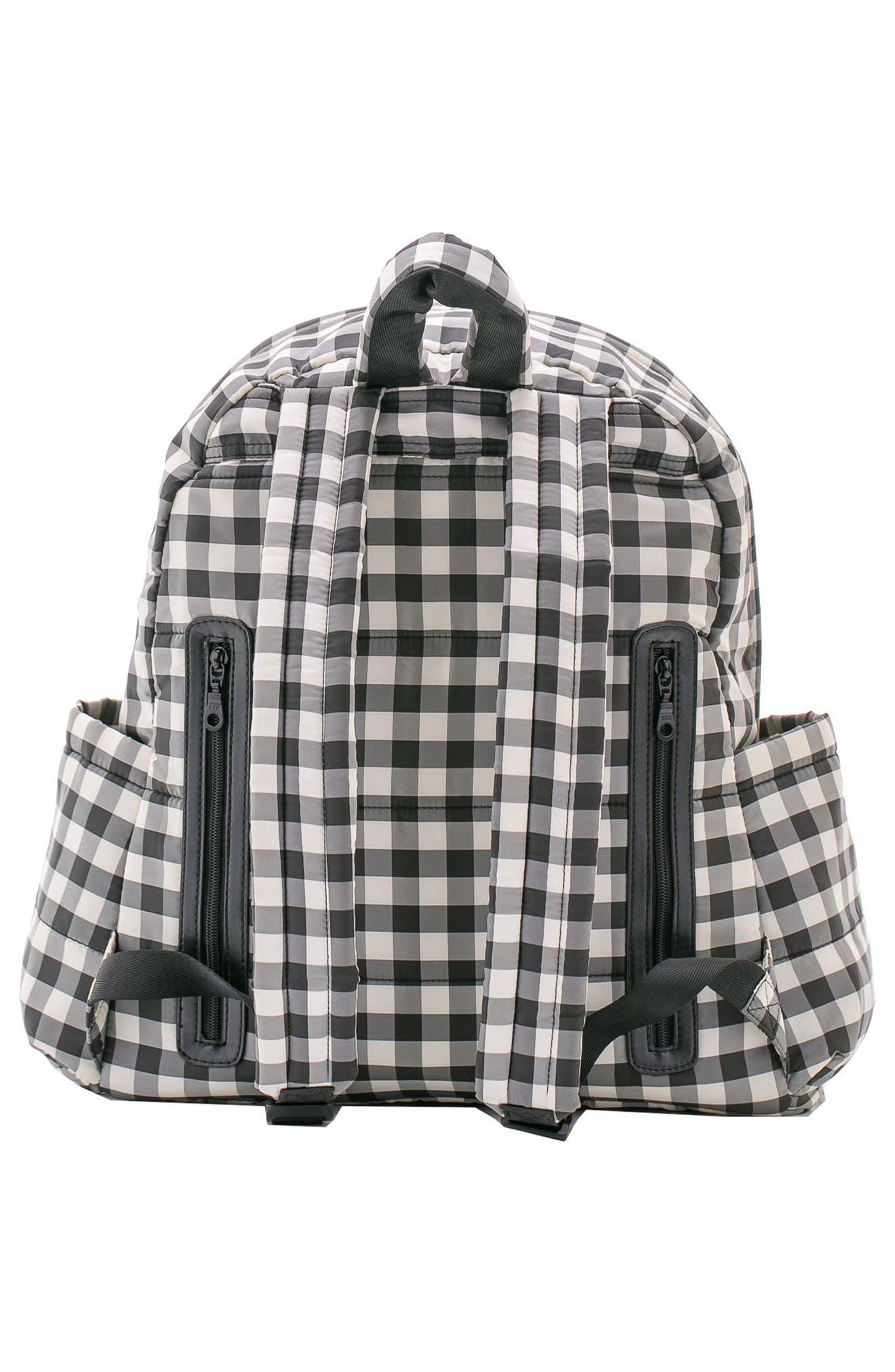 Print Water Repellent Diaper Backpack,                             Alternate thumbnail 3, color,                             002