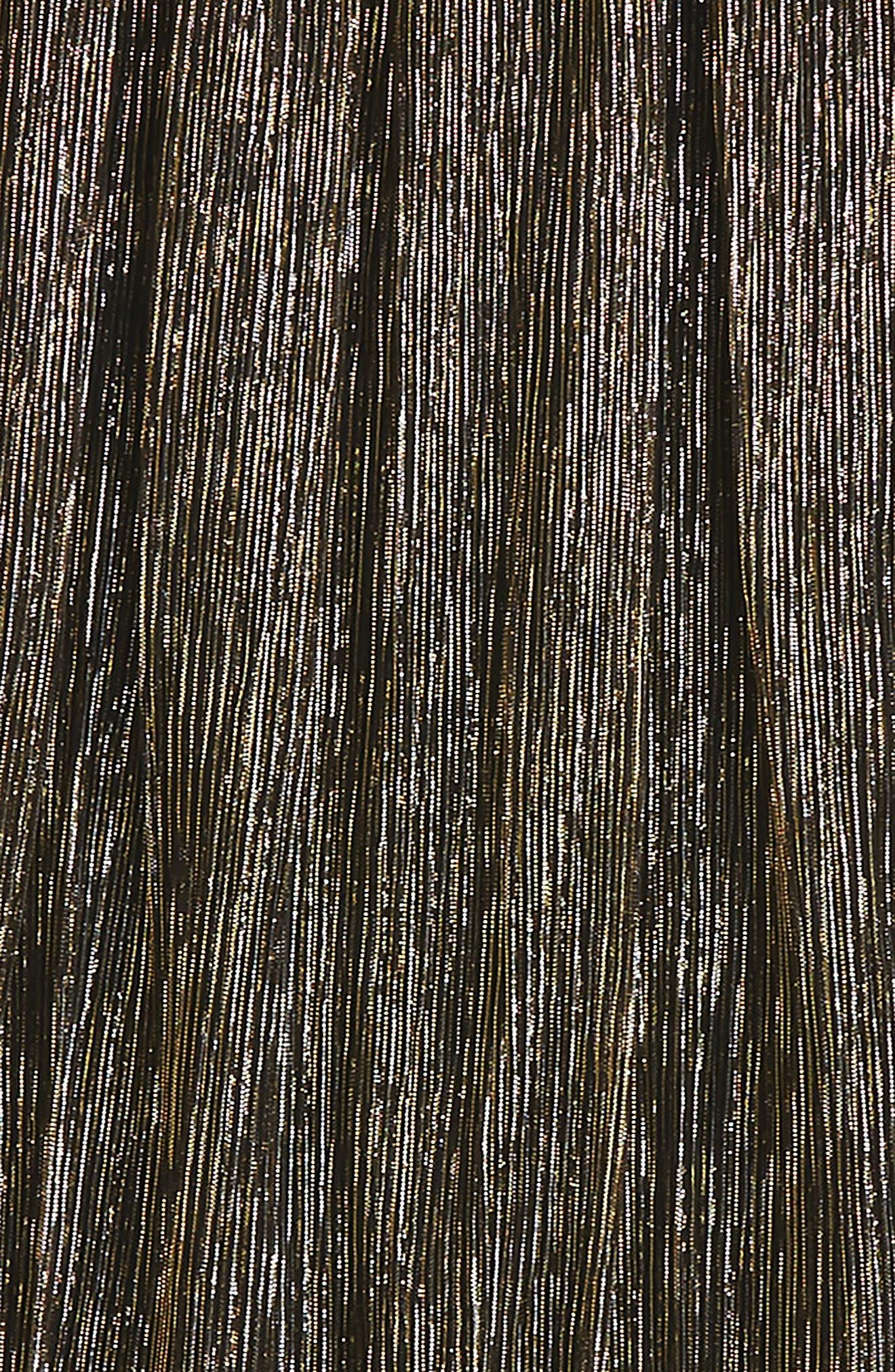 Pleated Metallic Skirt,                             Alternate thumbnail 2, color,                             710