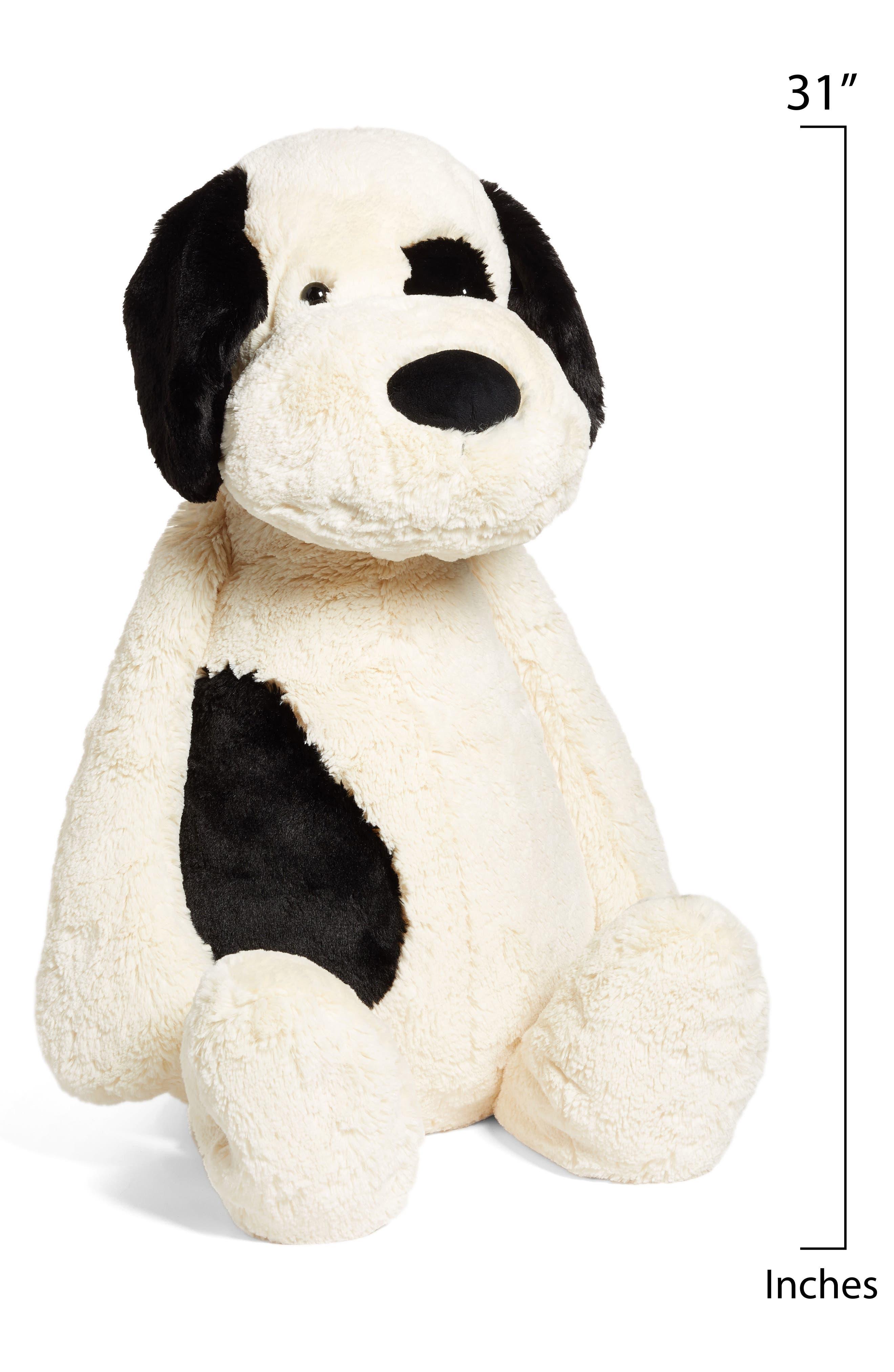 'Really Big Bashful Puppy' Stuffed Animal,                             Alternate thumbnail 2, color,                             IVORY/ BLACK