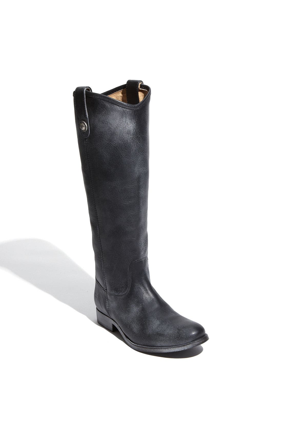 'Melissa Button' Leather Riding Boot,                             Main thumbnail 6, color,
