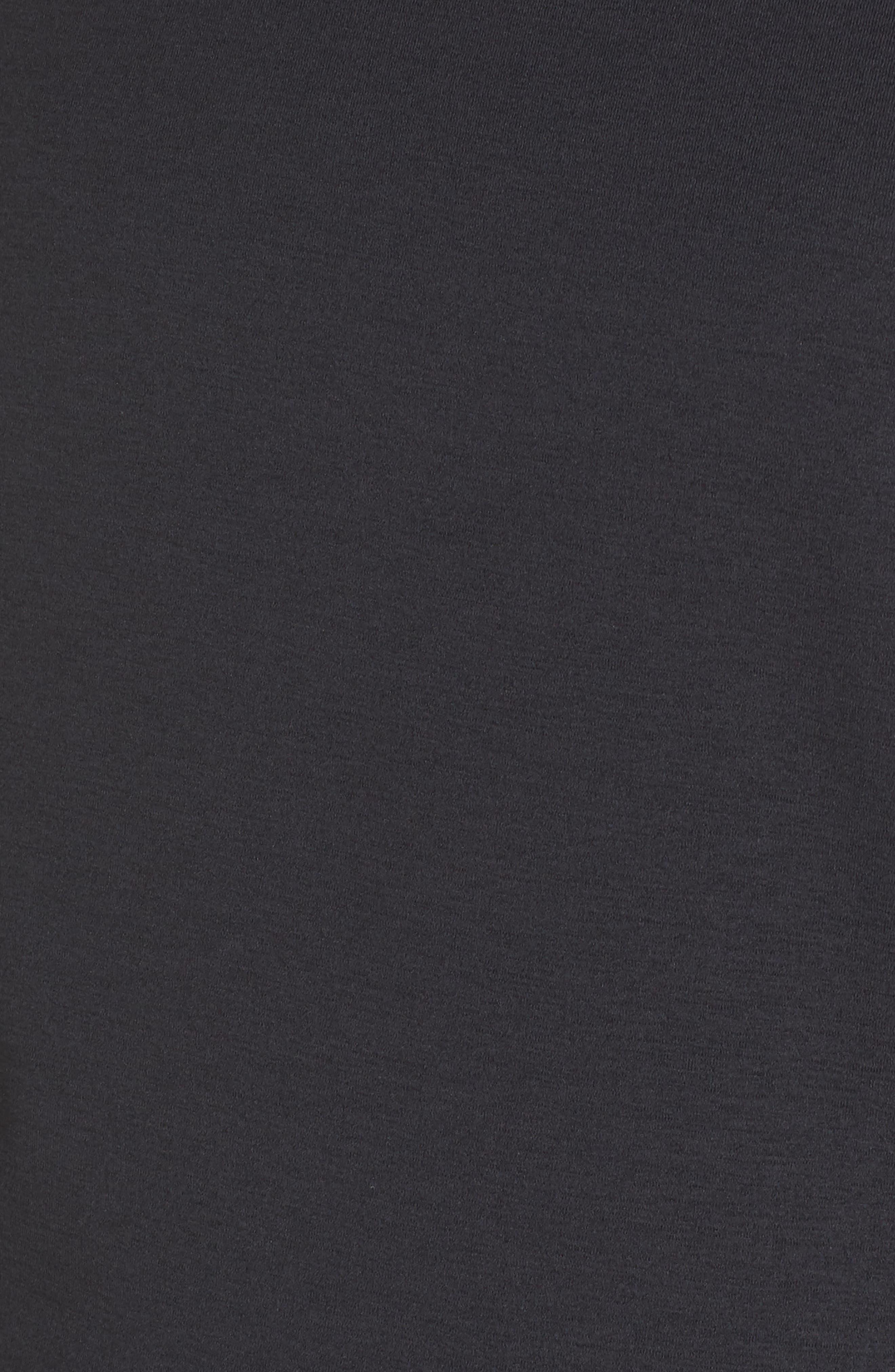 Supernova Run Sweatshirt,                             Alternate thumbnail 6, color,                             BLACK/ COLORED HEATHER