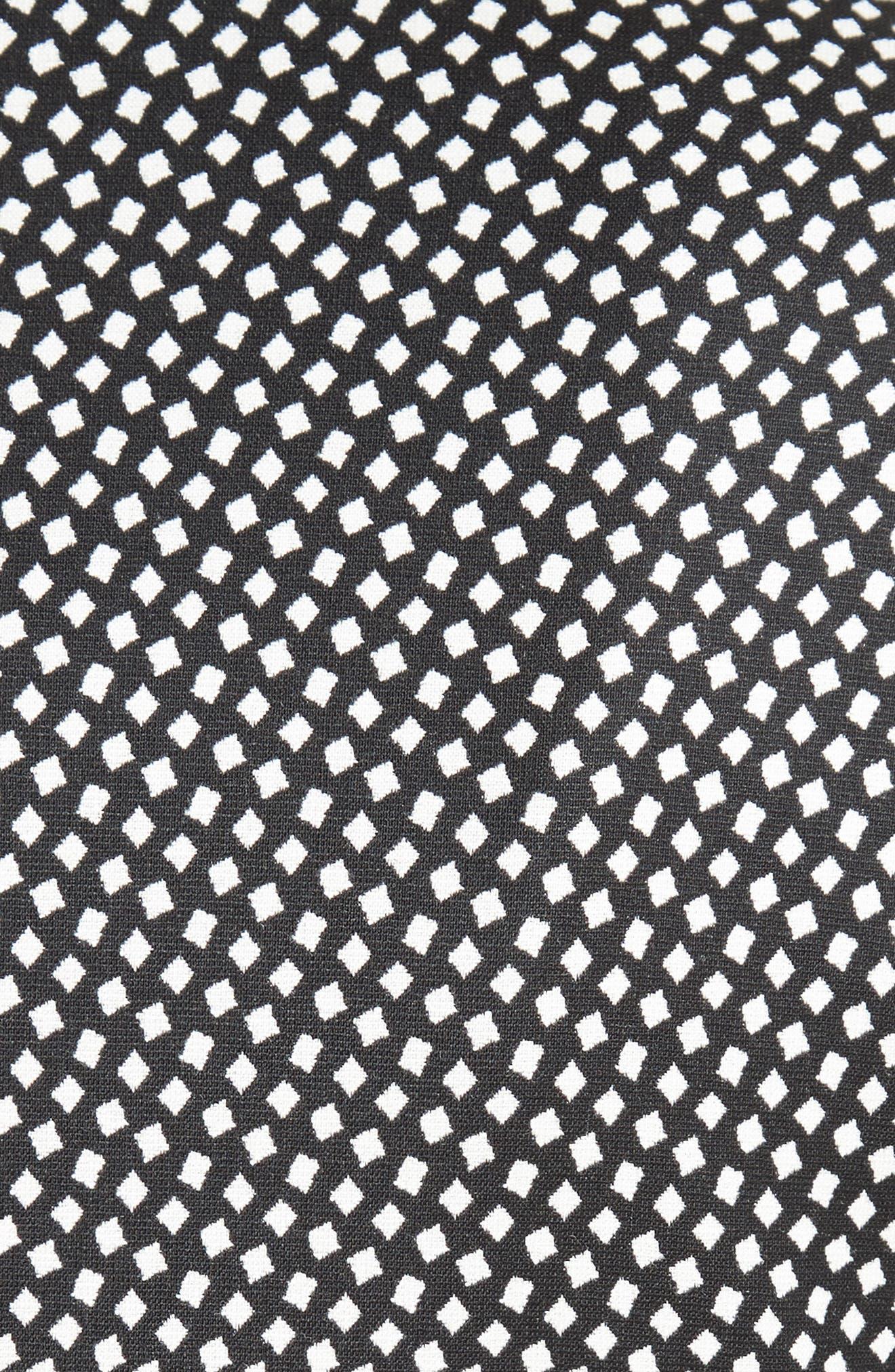 Ajaccio Wool Blend Jacquard Jacket,                             Alternate thumbnail 6, color,                             001