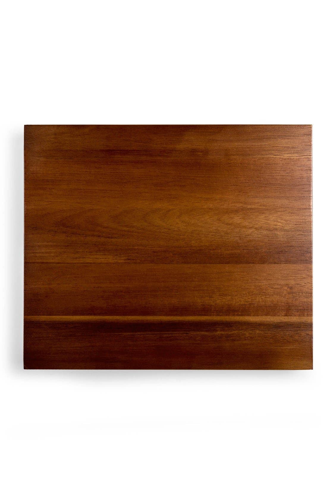 'Etage' Wood Serving Pedestals,                             Alternate thumbnail 5, color,                             BROWN