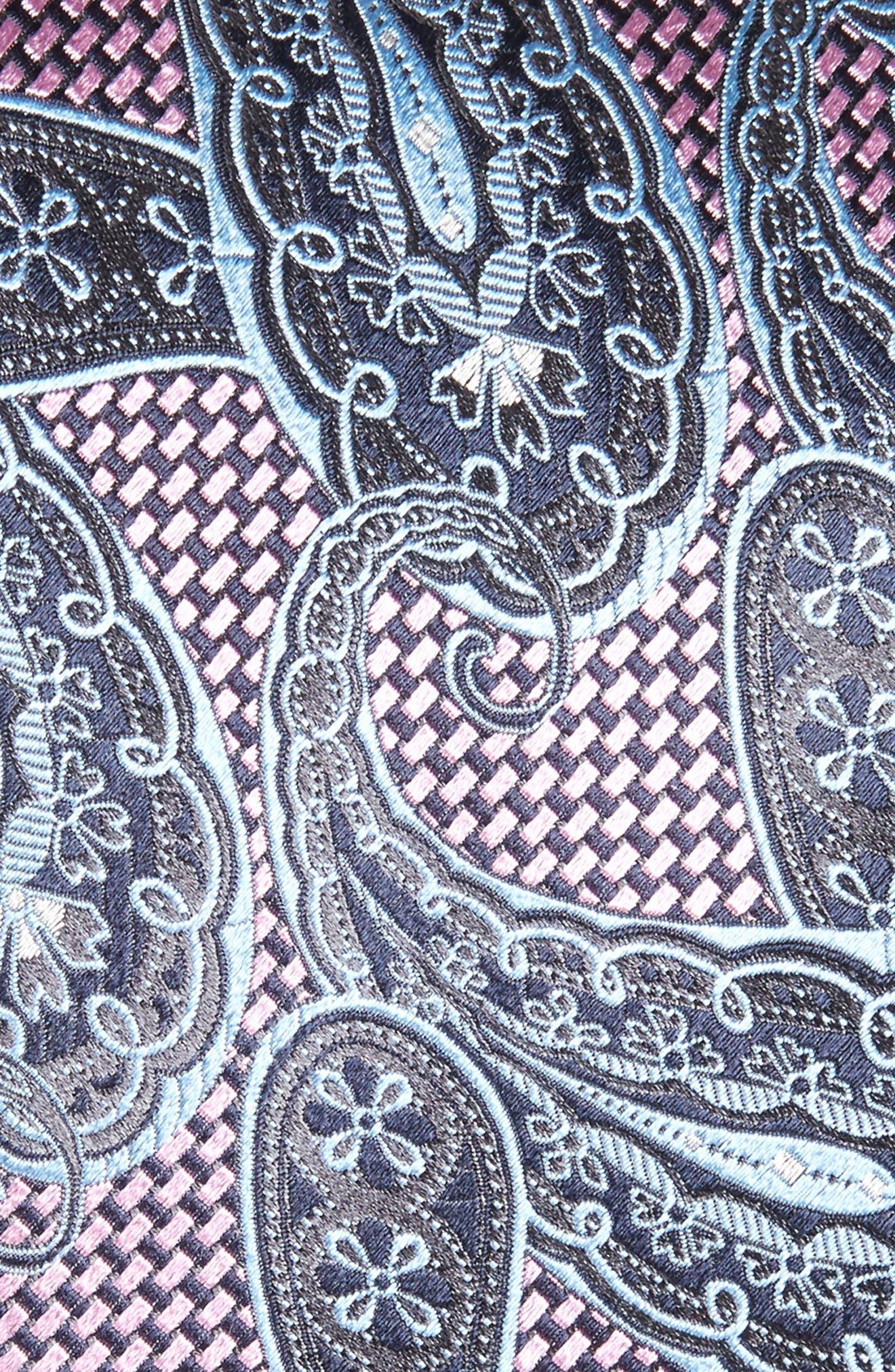 Paisley Silk Tie,                             Alternate thumbnail 2, color,                             400