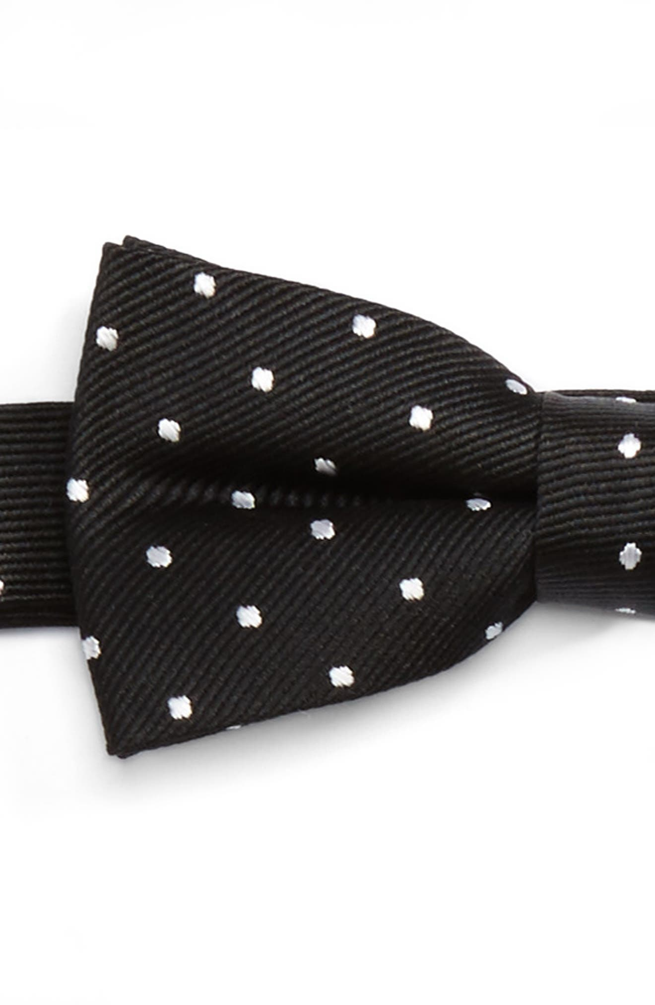Polka Dot Bow Tie & Suspenders Set,                             Alternate thumbnail 2, color,