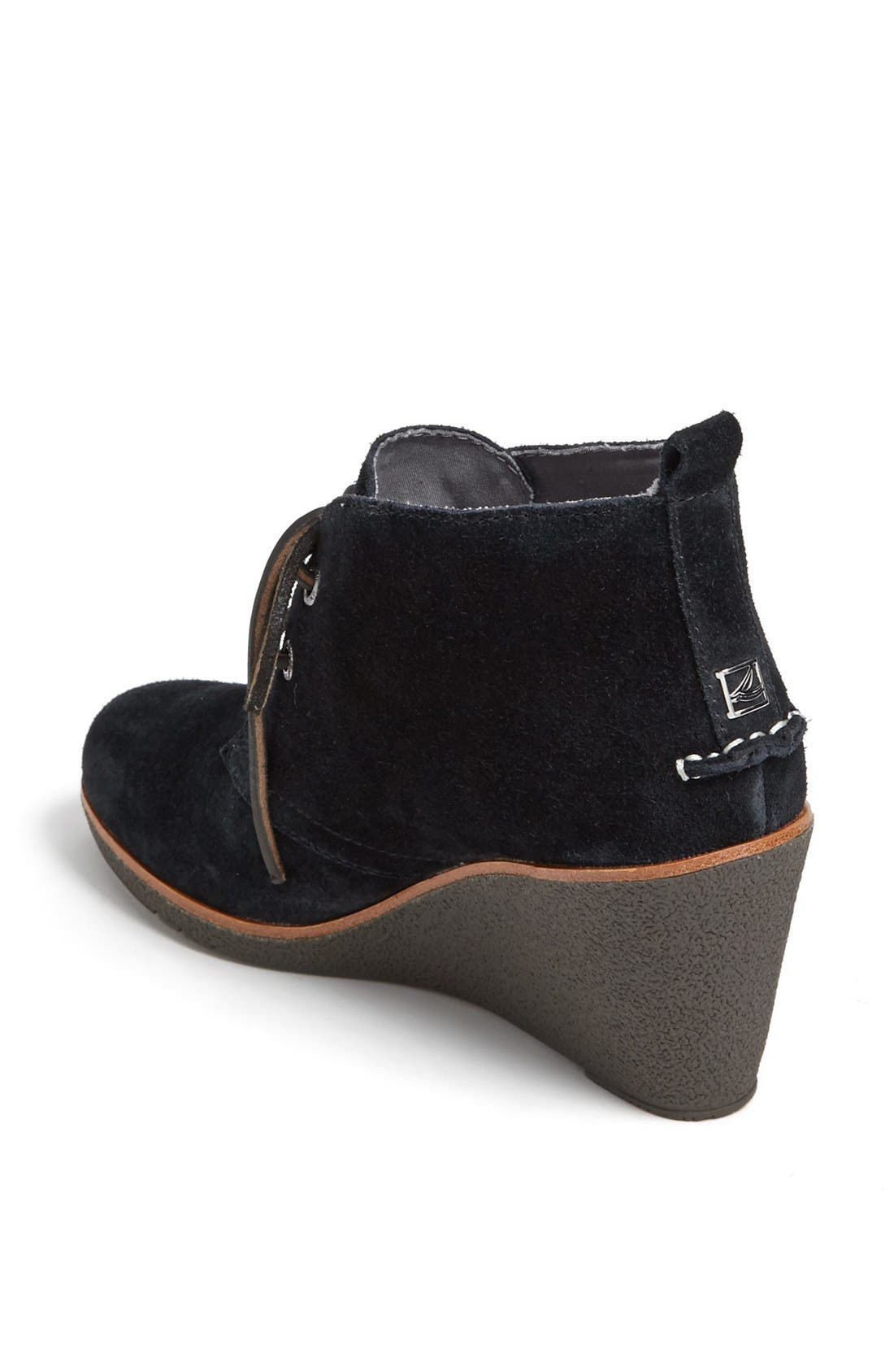 Top Sider<sup>®</sup> 'Harlow' Bootie,                             Alternate thumbnail 4, color,                             001