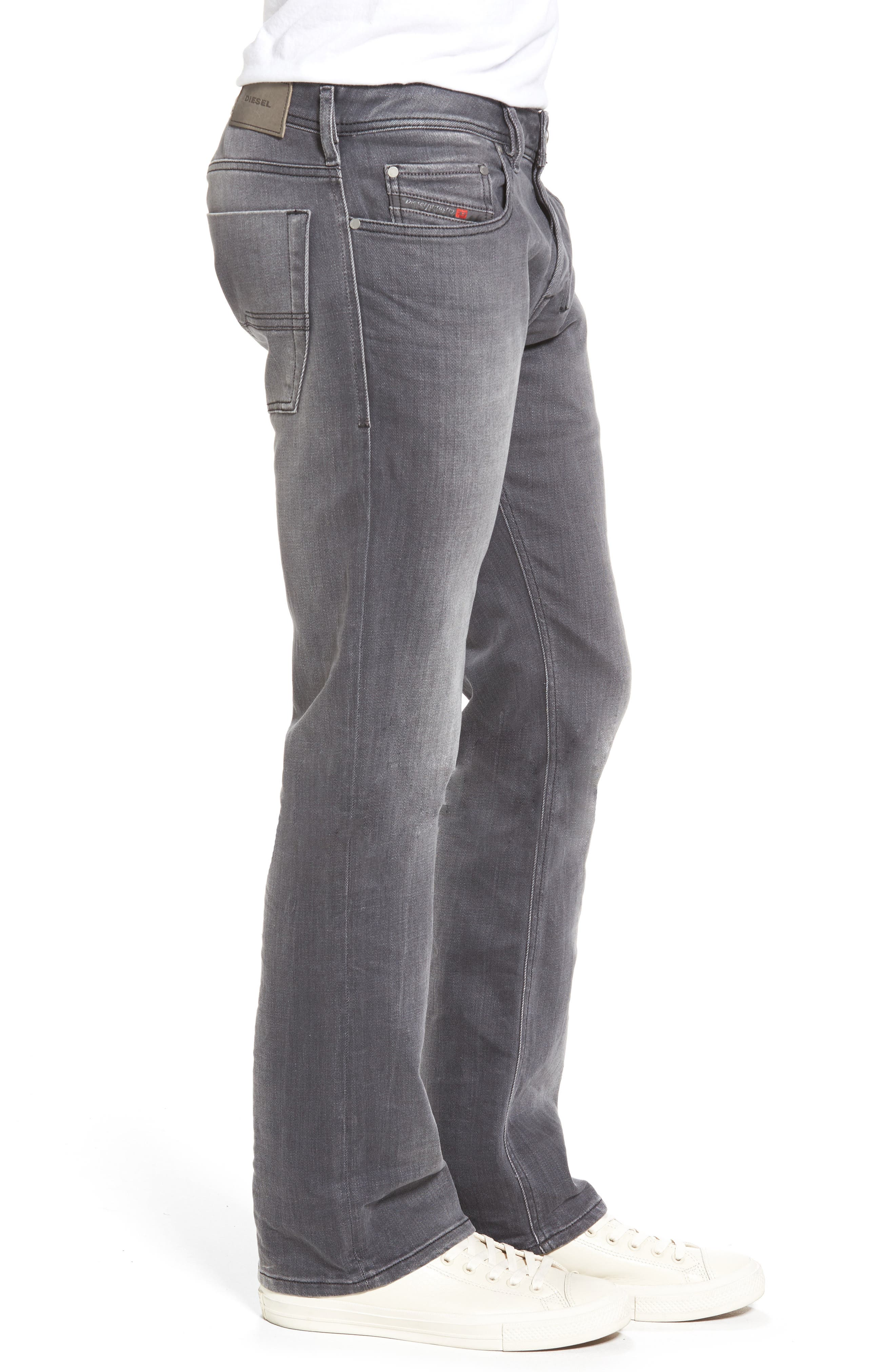 Zatiny Bootcut Jeans,                             Alternate thumbnail 3, color,