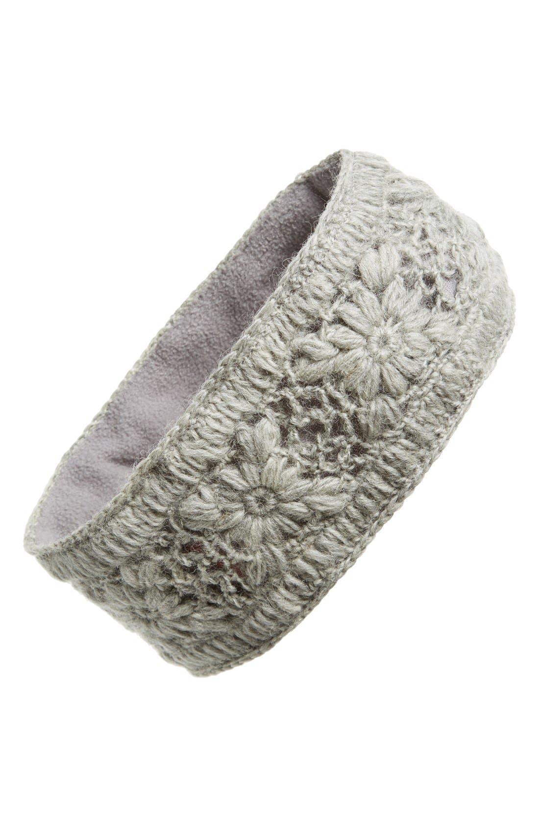 Crochet Ear Warmer Headband,                             Main thumbnail 3, color,