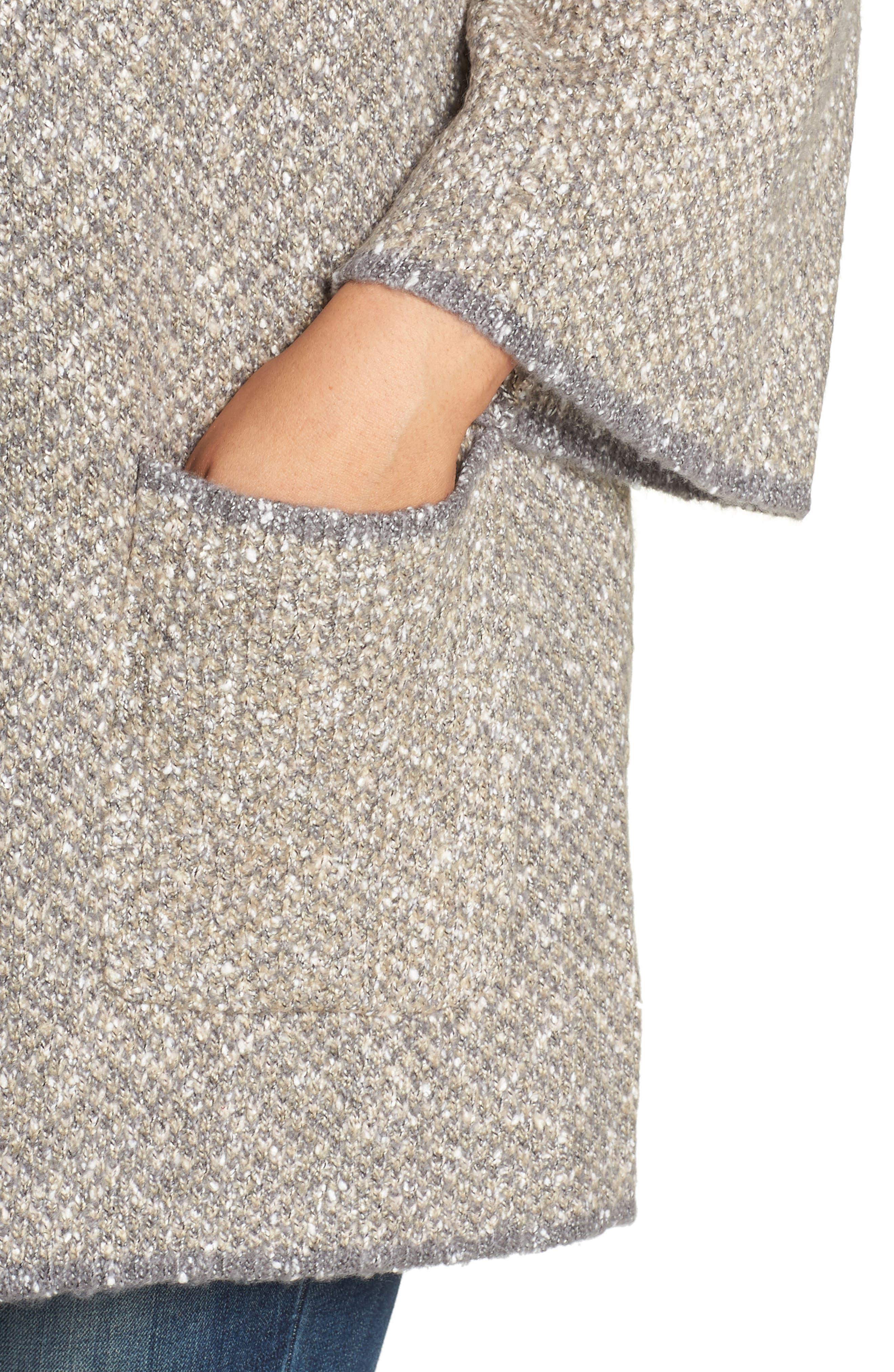 Reversible Jacket,                             Alternate thumbnail 5, color,                             OATMEAL