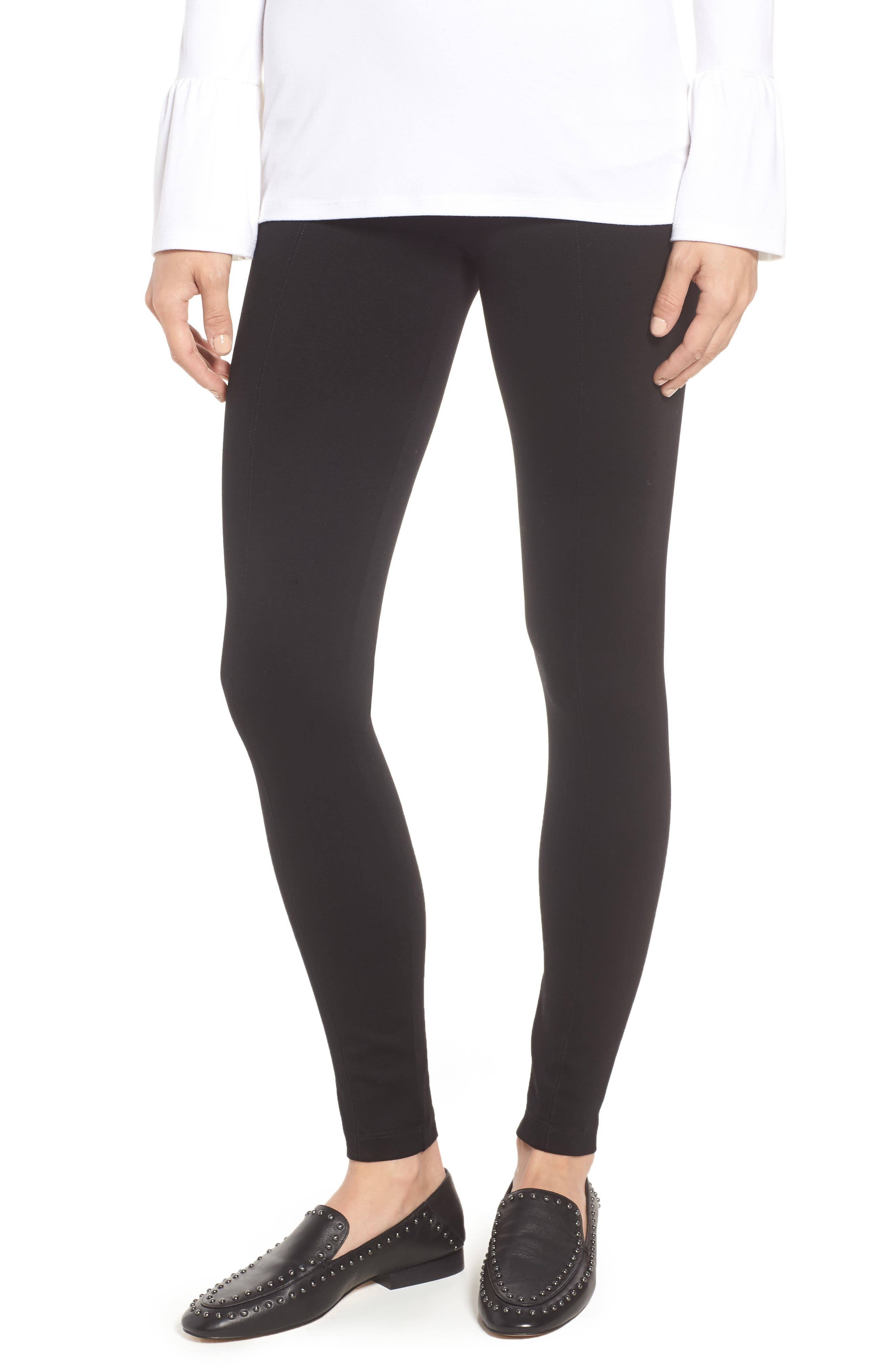 Center Seam Ponte Leggings by LyssÉ