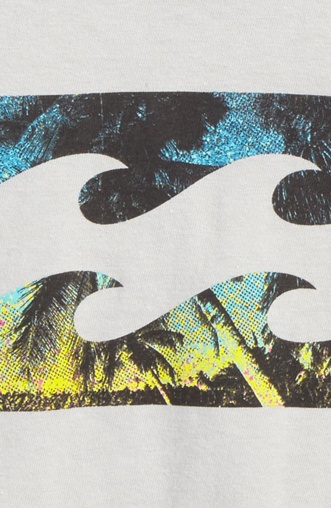 Team Wave Graphic T-Shirt,                             Alternate thumbnail 5, color,