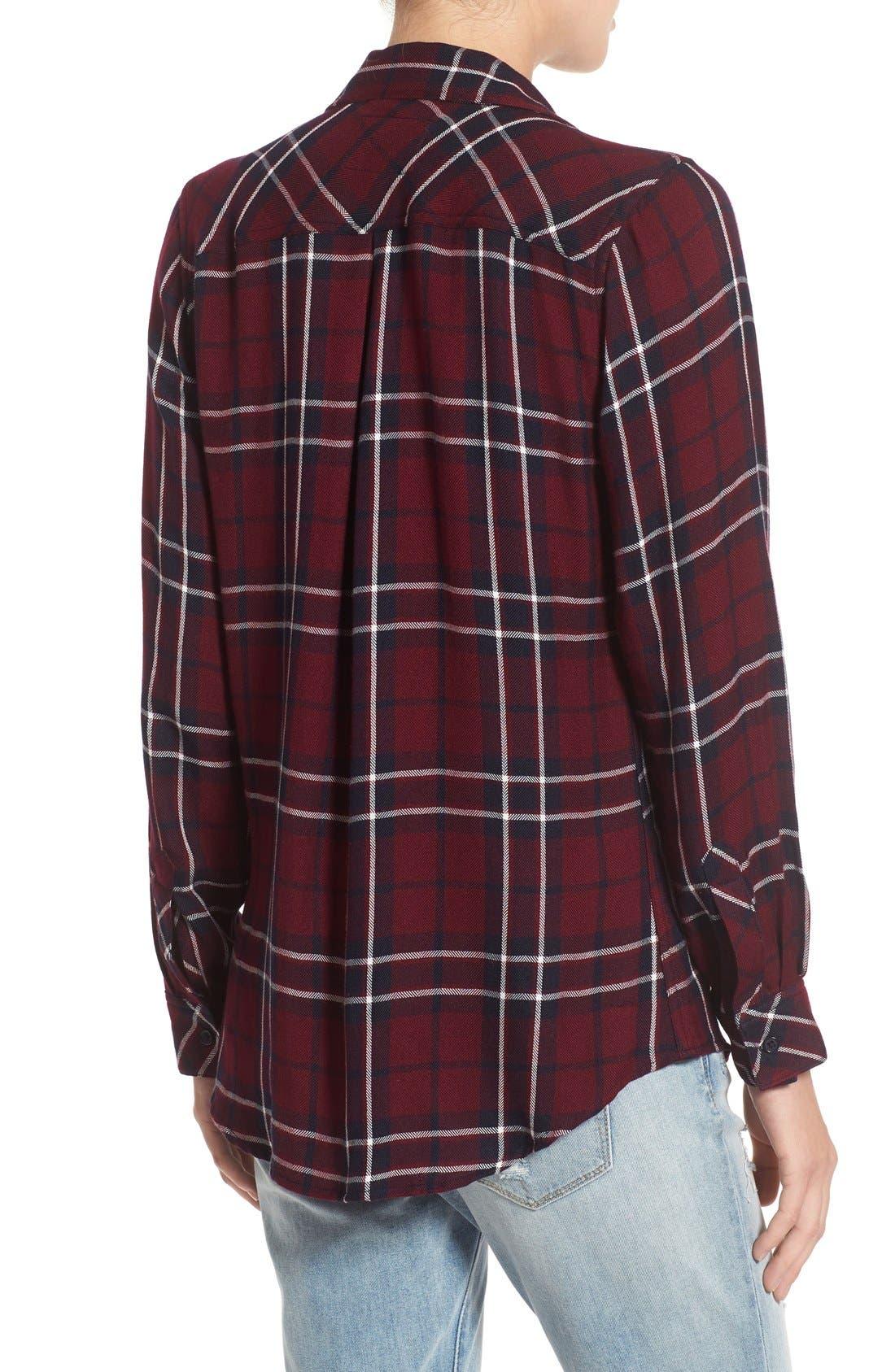 Hunter Plaid Shirt,                             Alternate thumbnail 270, color,