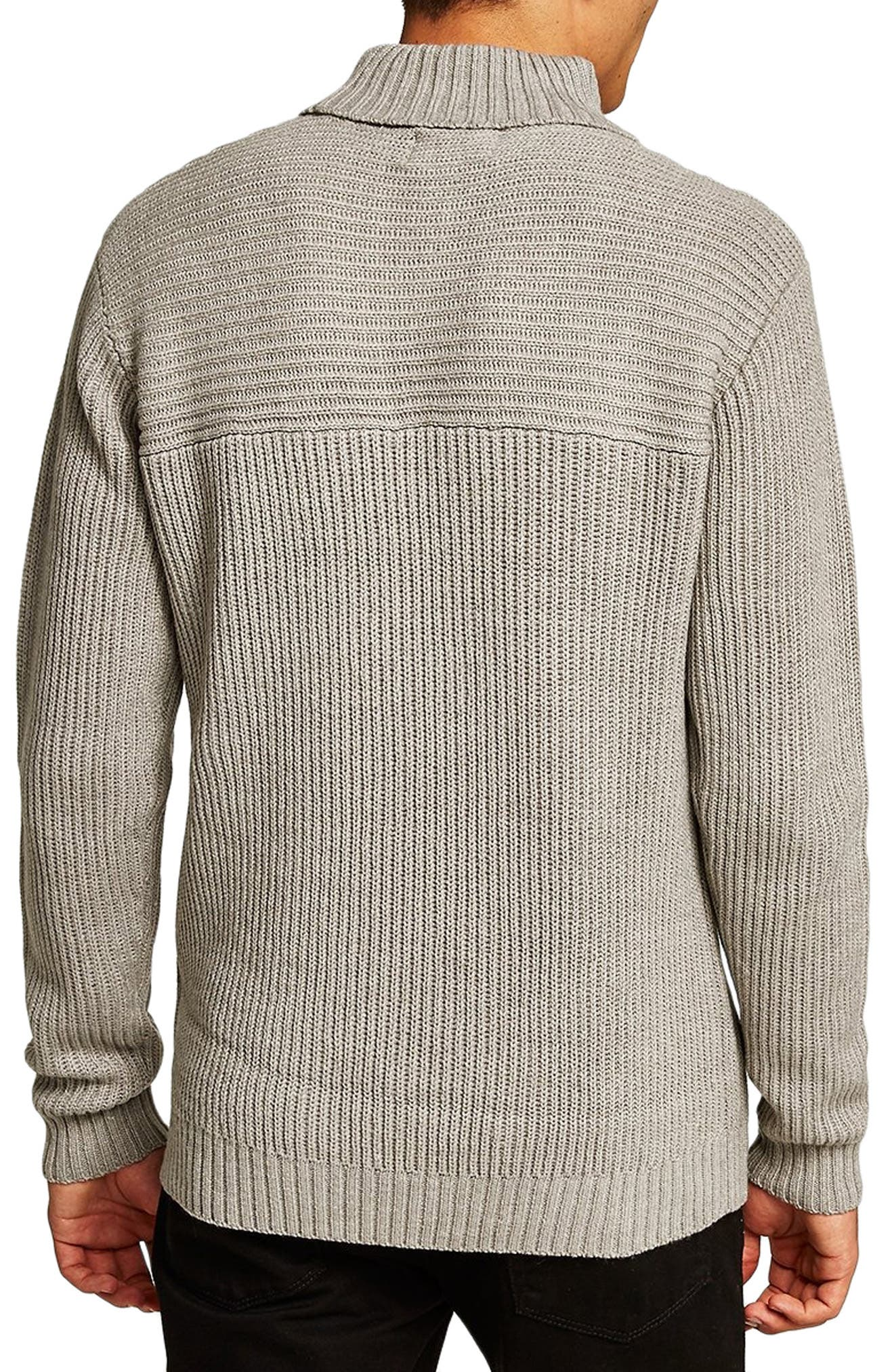 Flint Ribbed Turtleneck Sweater,                             Alternate thumbnail 2, color,                             020