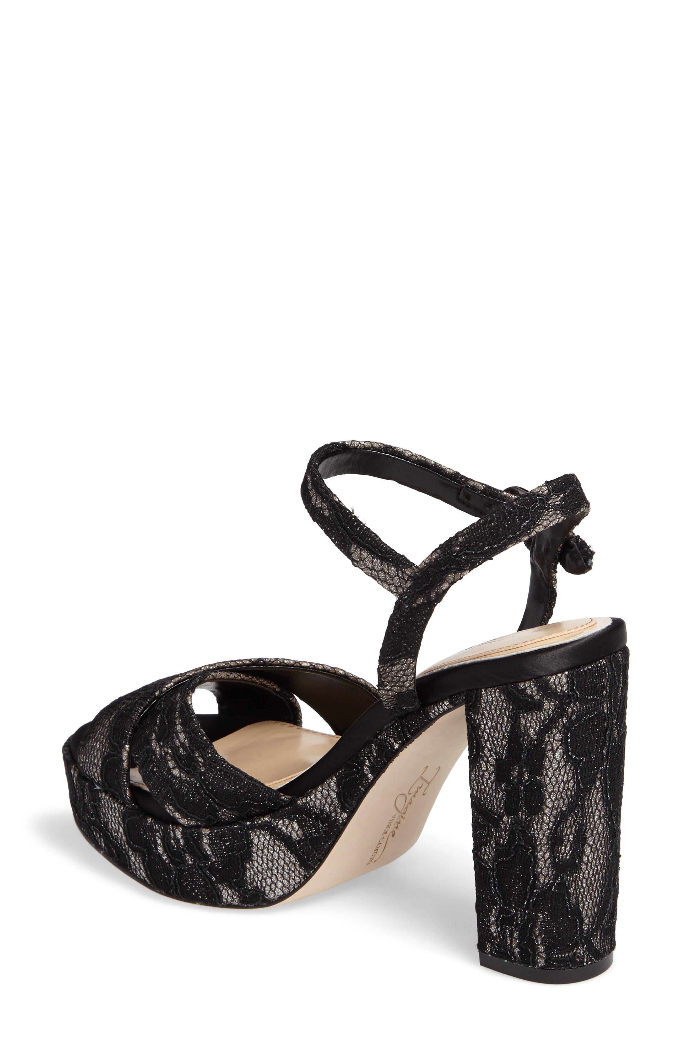 'Valora' Platform Sandal,                             Alternate thumbnail 2, color,                             002
