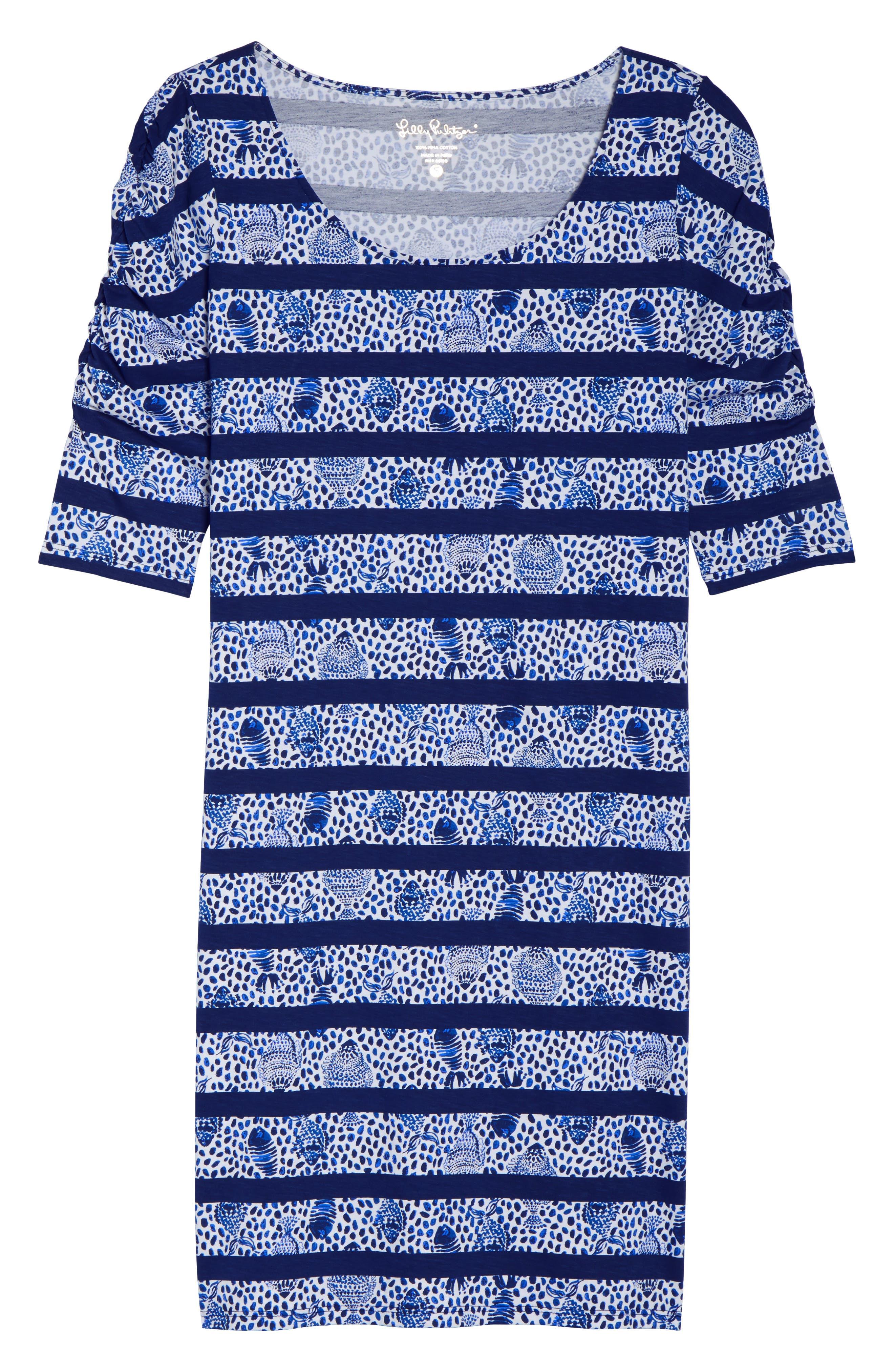 Lajolla Stripe Dress,                             Alternate thumbnail 7, color,