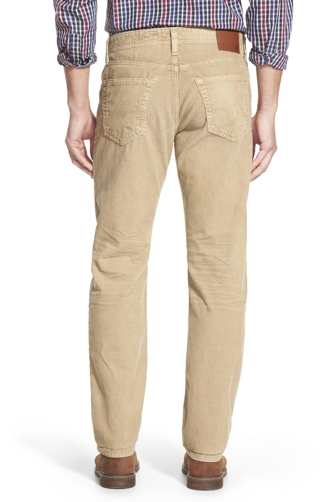 'Graduate' Tailored Straight Leg Corduroy Pants,                             Alternate thumbnail 39, color,