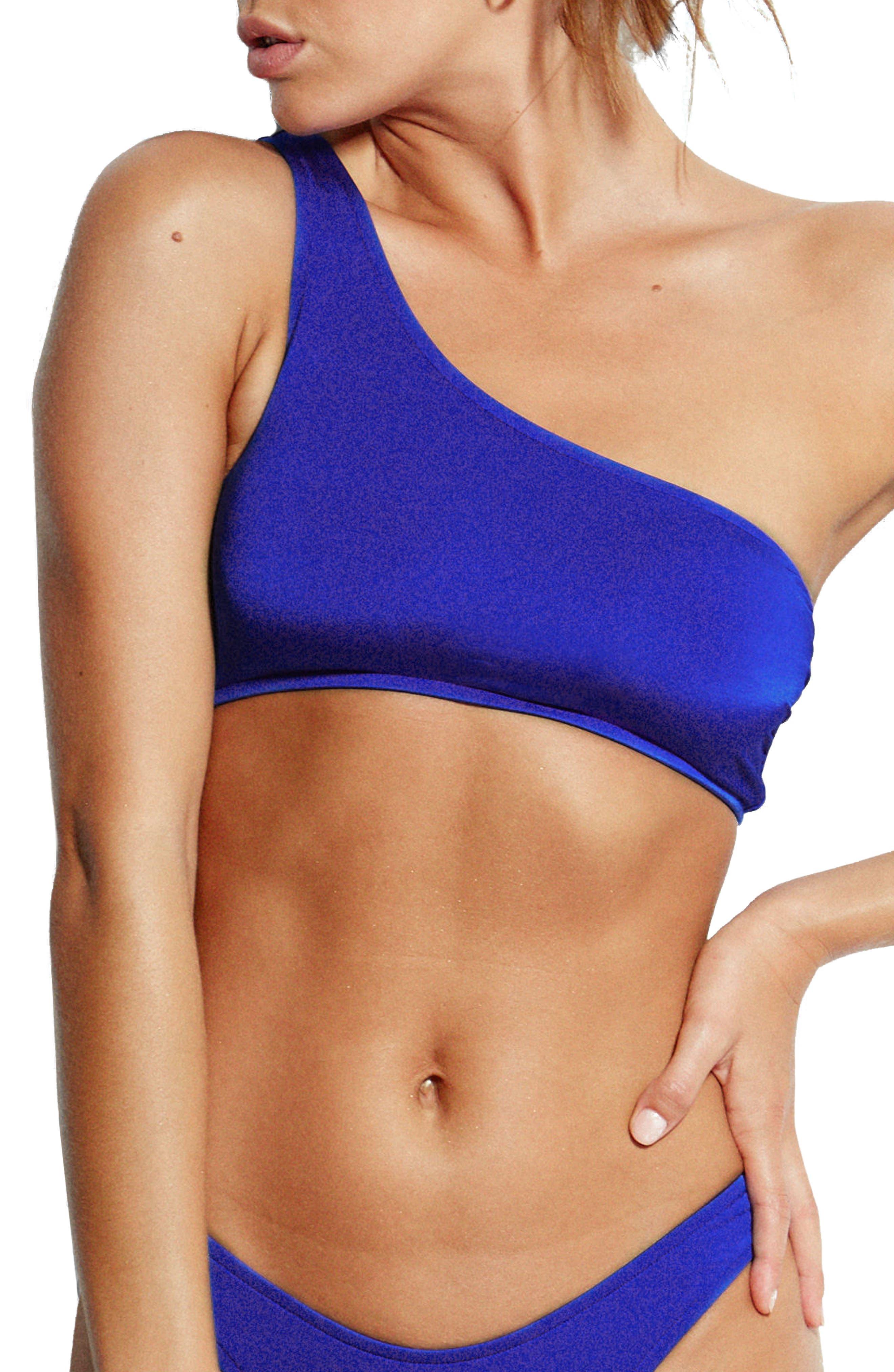 Stella One-Shoulder Bikini Top,                             Main thumbnail 1, color,                             467