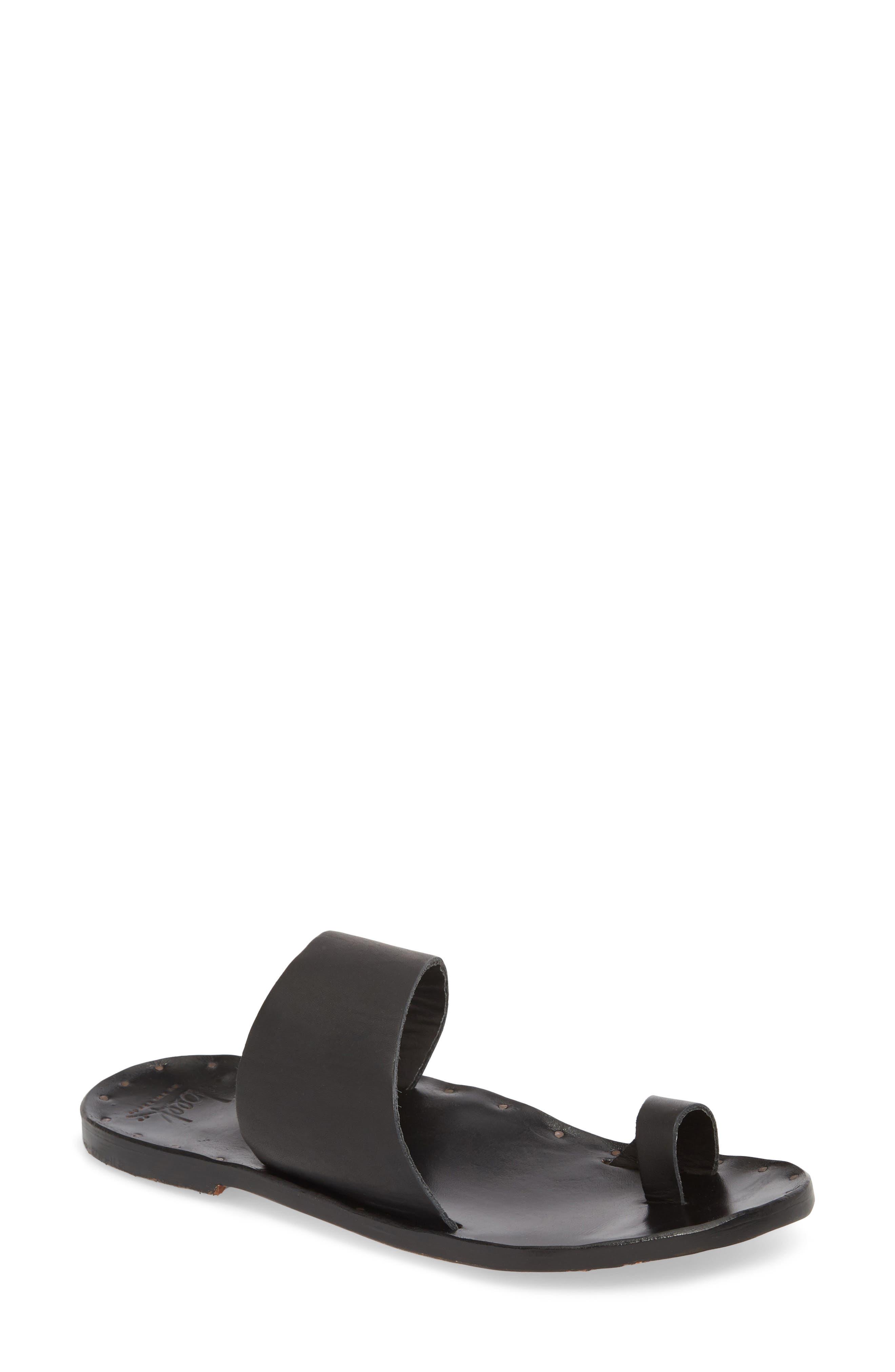 Finch Sandal,                             Main thumbnail 1, color,                             BLACK/ BLACK