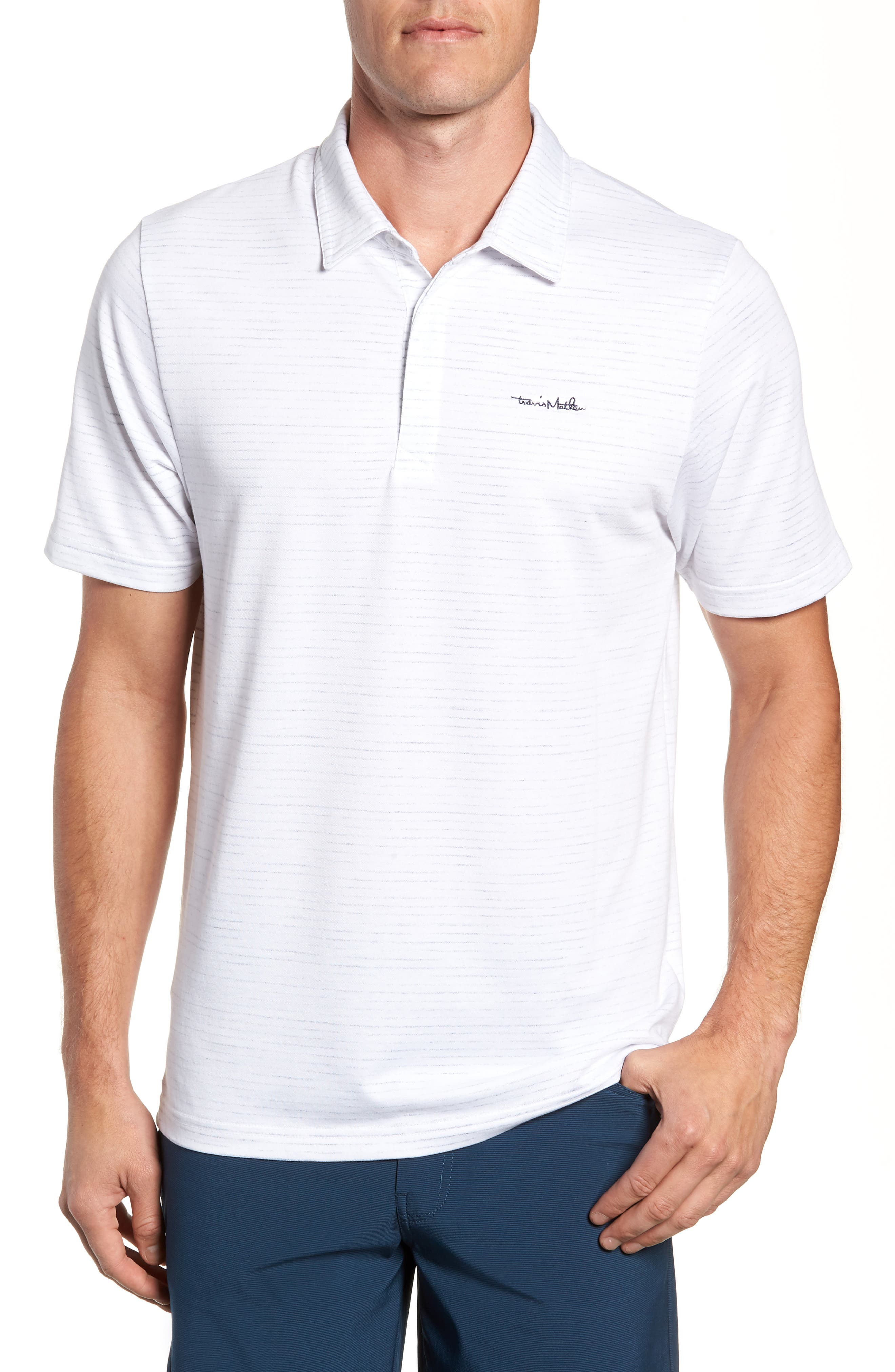 Getting Loose Regular Fit Polo,                             Main thumbnail 1, color,                             100