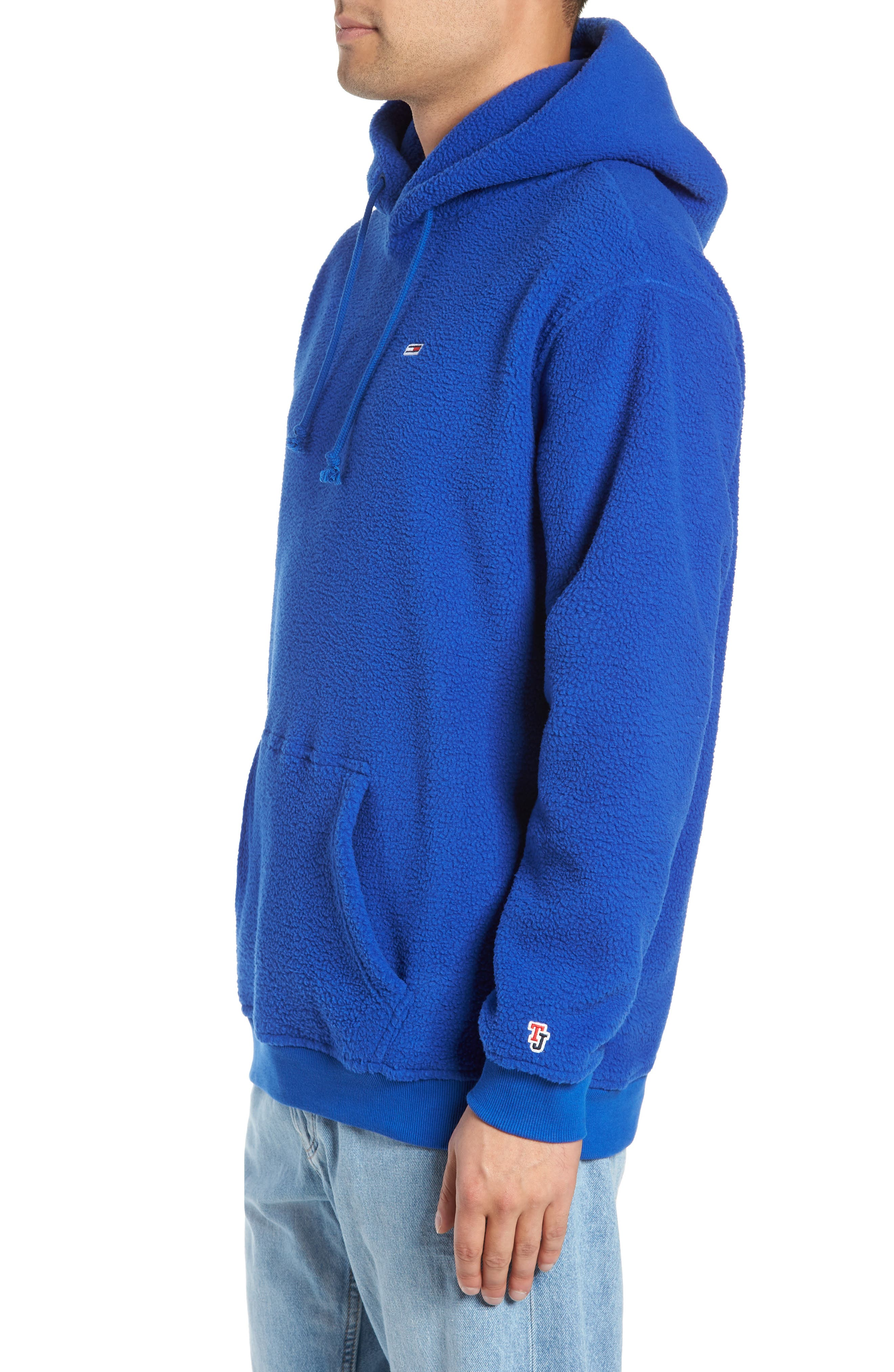 TJM Tommy Classics Polar Hoodie,                             Alternate thumbnail 3, color,                             SURF THE WEB