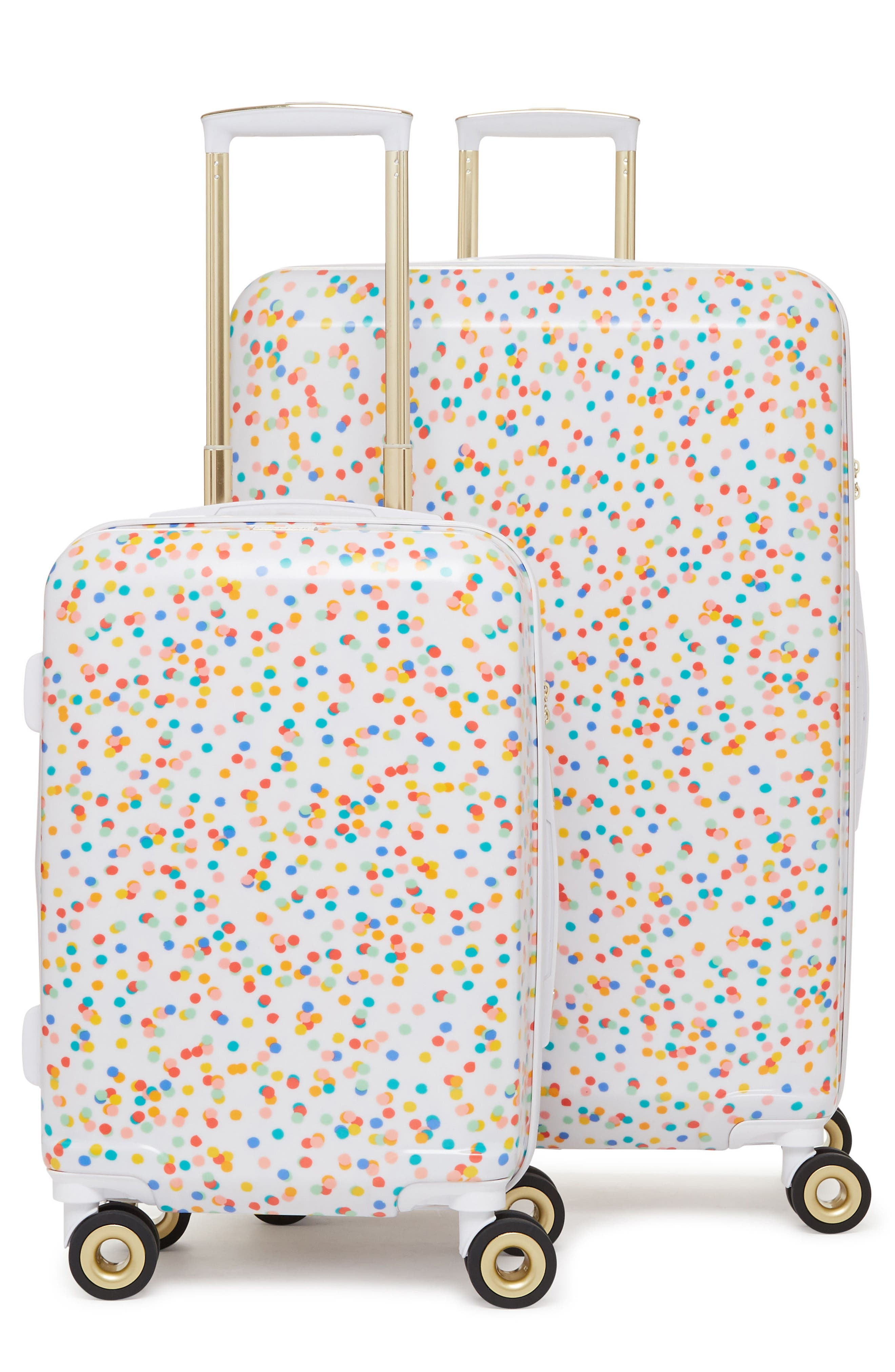 x Oh Joy! 28-Inch & 20-Inch Hardshell Spinner Suitcase & Carry-On Set,                             Main thumbnail 1, color,                             100