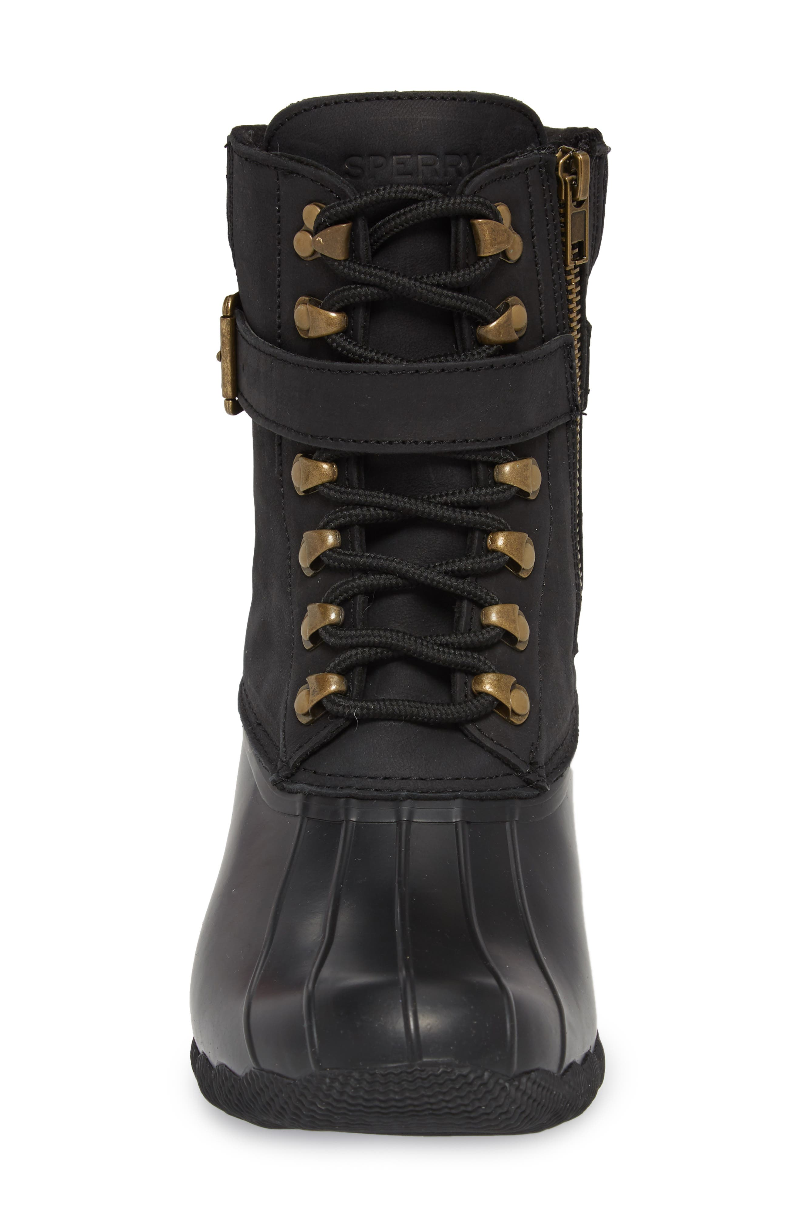 Shearwater Water-Resistant Genuine Shearling Lined Boot,                             Alternate thumbnail 14, color,