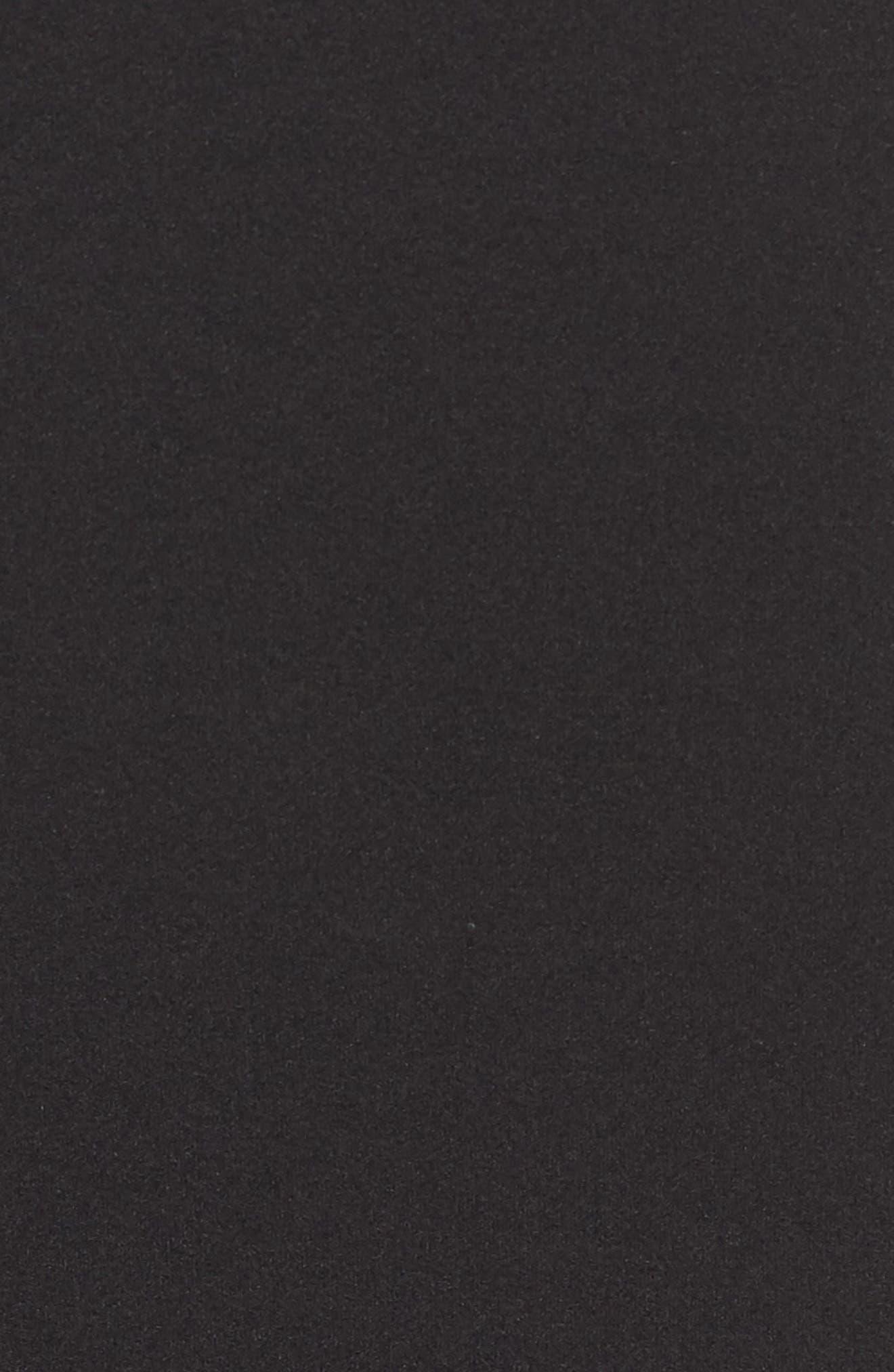 Long Sleeve Body-Con Dress,                             Alternate thumbnail 5, color,                             001