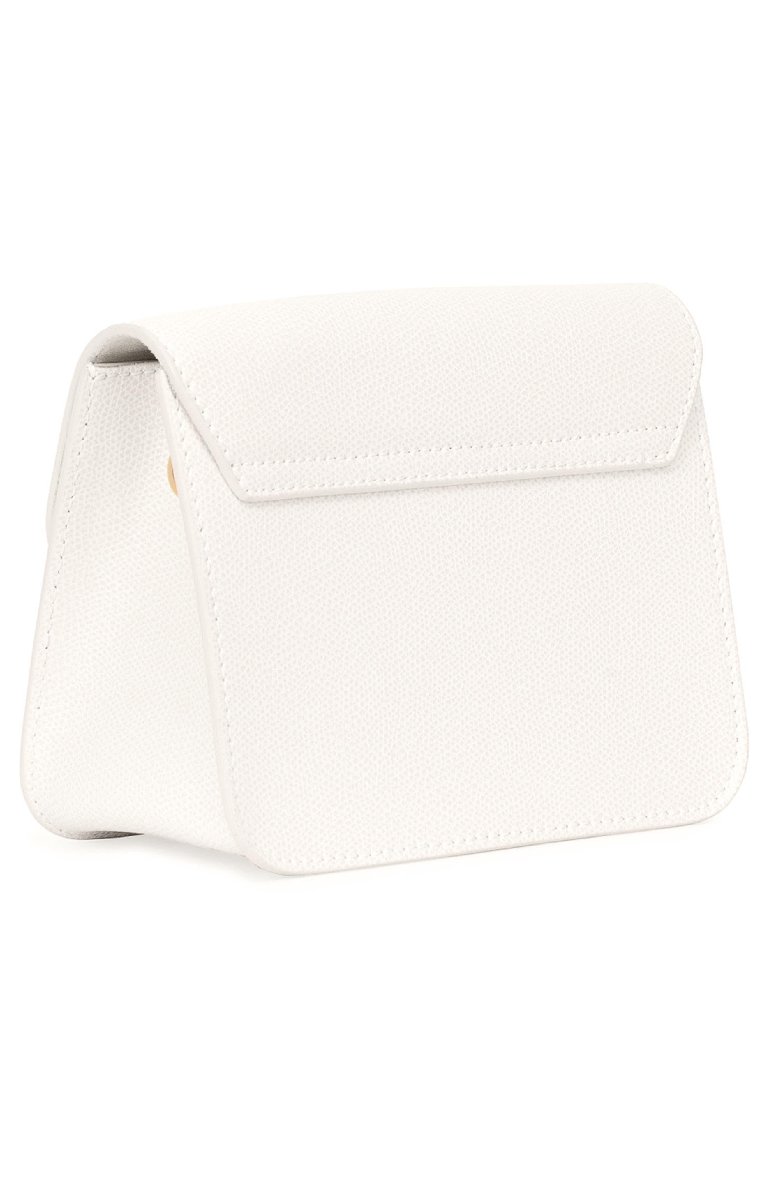 Mini Metropolis Leather Crossbody Bag,                             Alternate thumbnail 2, color,                             100