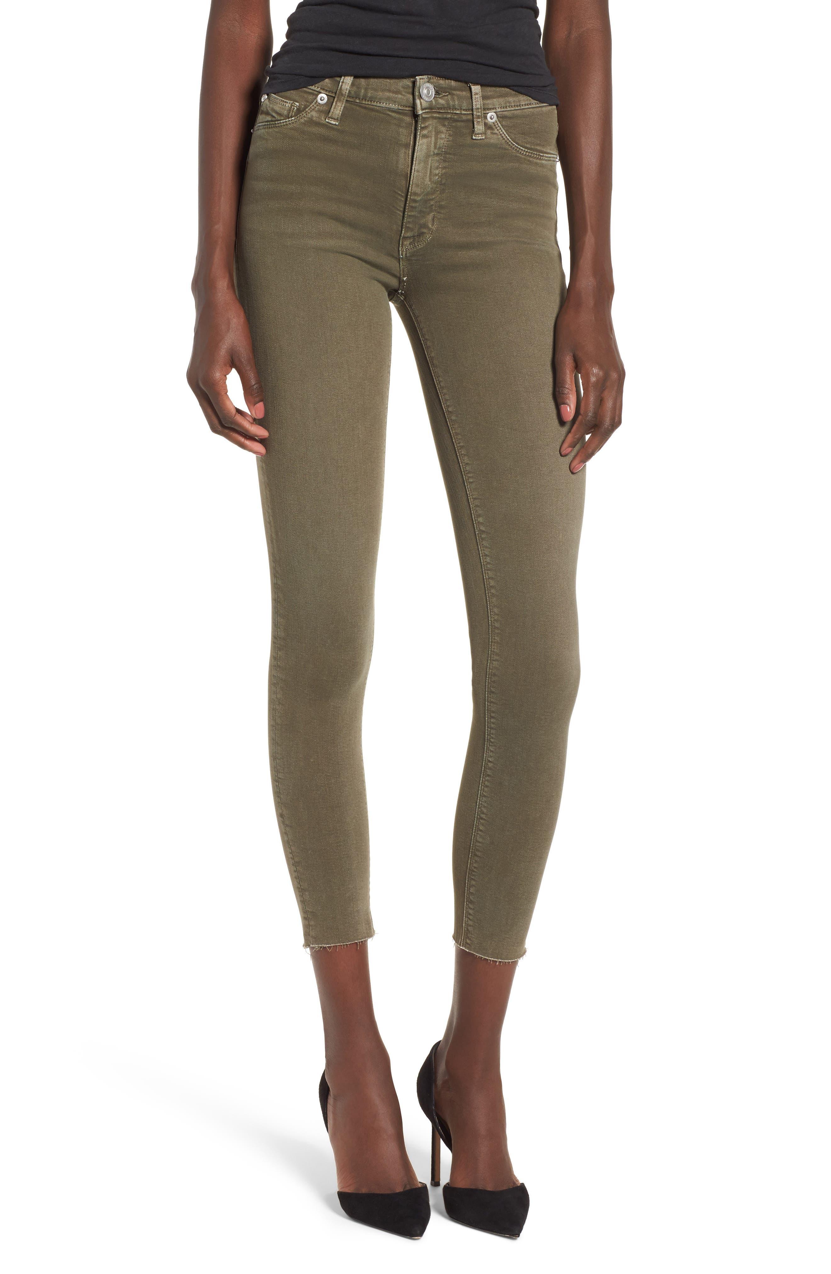 Barbara High Waist Ankle Skinny Jeans,                             Main thumbnail 3, color,