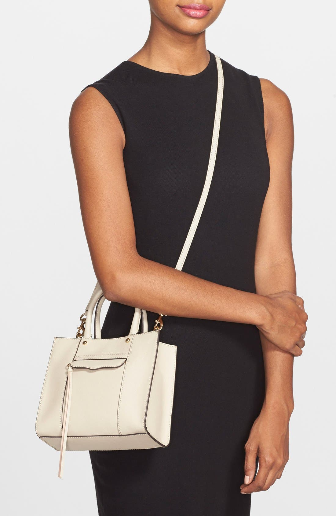 'Mini MAB Tote' Crossbody Bag,                             Alternate thumbnail 56, color,