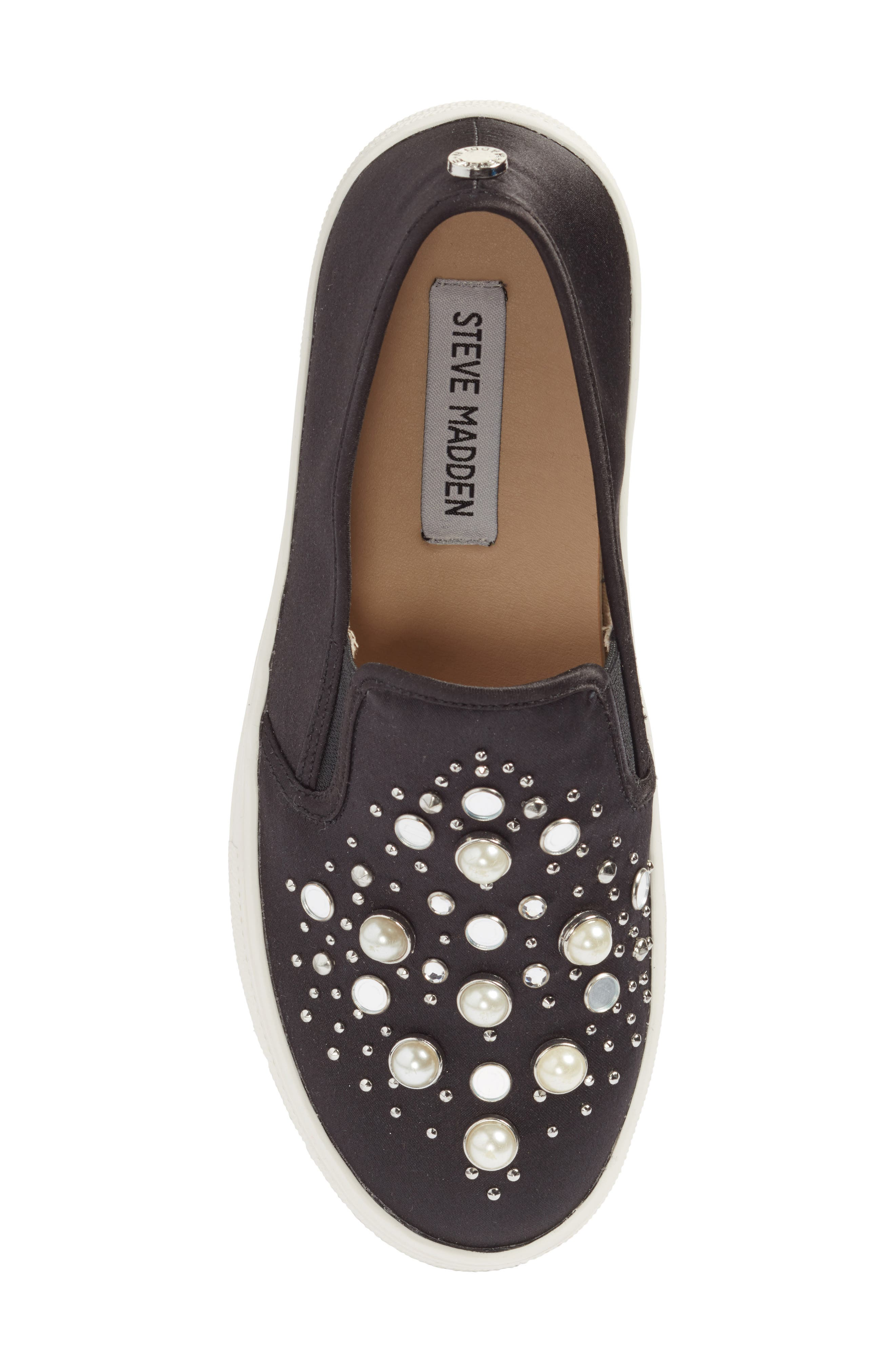 Glade Embellished Slip-On Sneaker,                             Alternate thumbnail 5, color,                             001