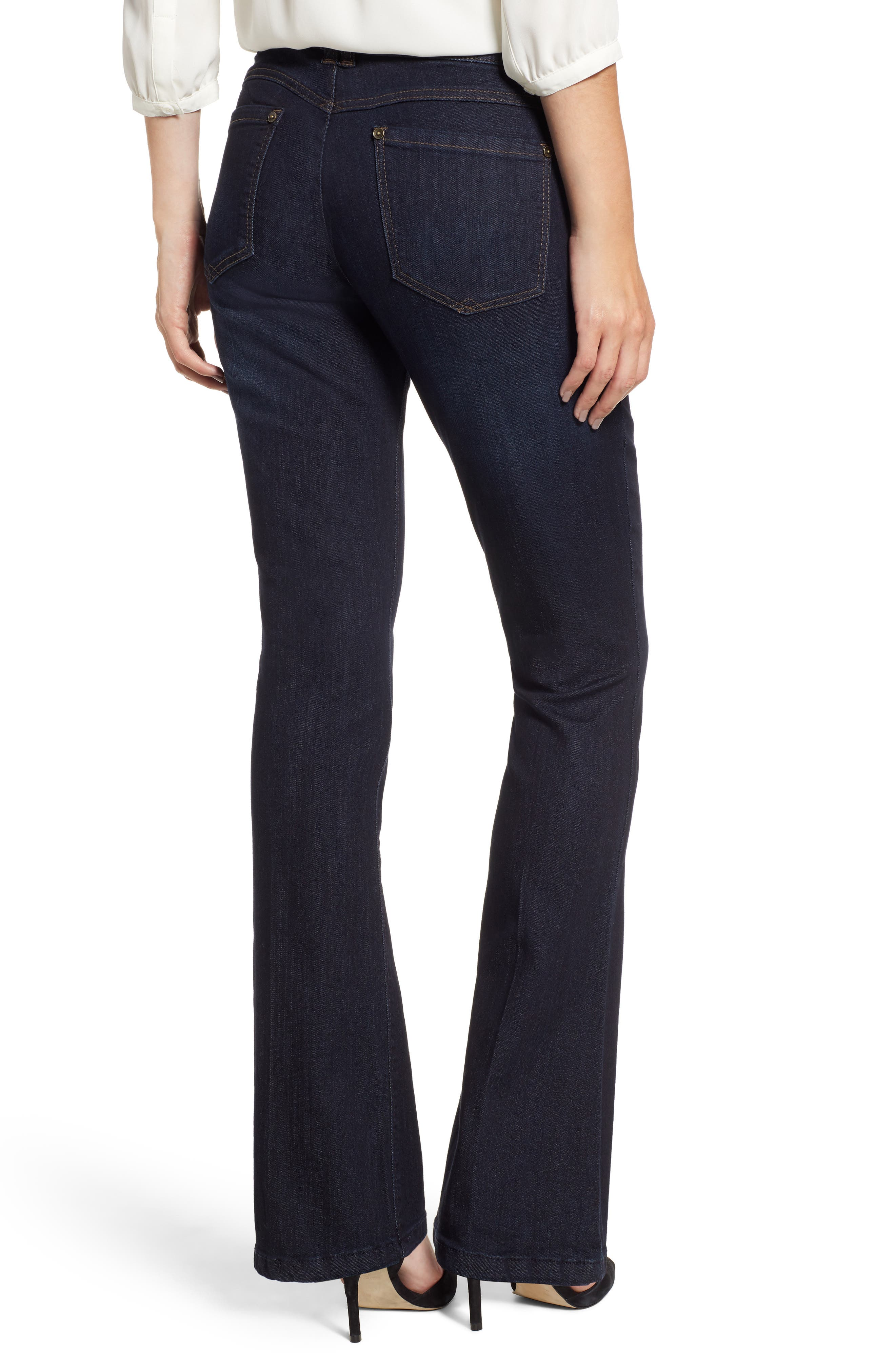 Ab-solution Itty Bitty Bootcut Jeans,                             Alternate thumbnail 2, color,                             INDIGO