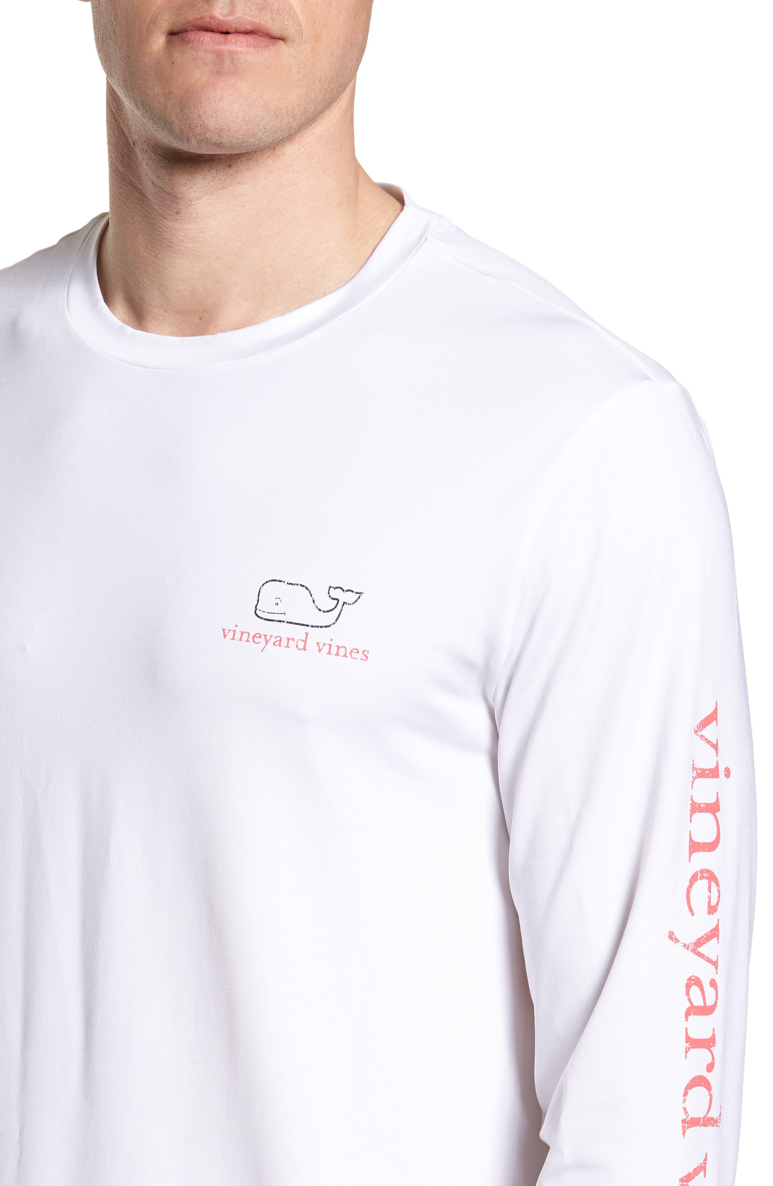 Vintage Whale Performance T-Shirt,                             Alternate thumbnail 10, color,