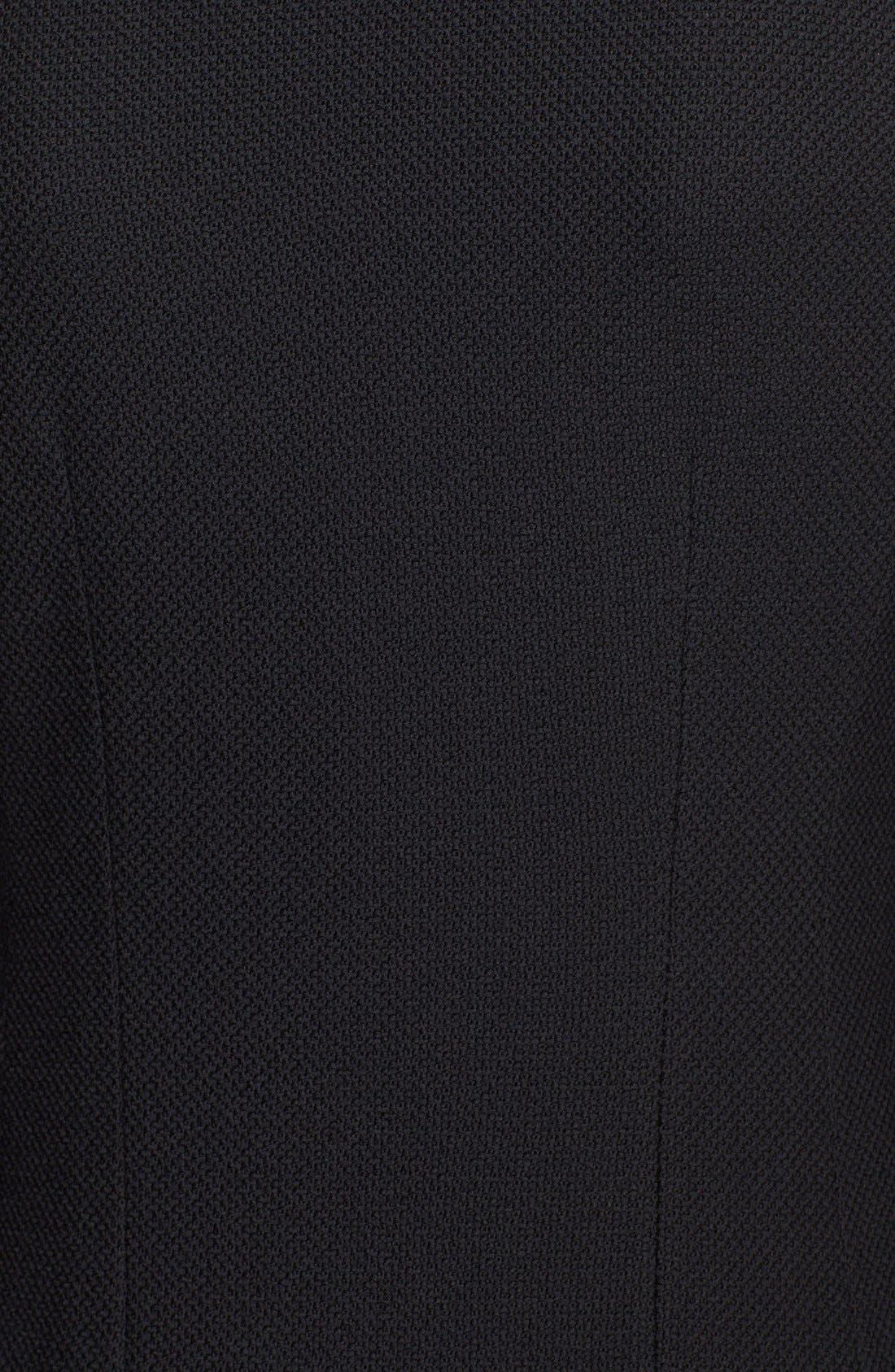 Nouveau Bouclé Knit Topper,                             Alternate thumbnail 3, color,                             001