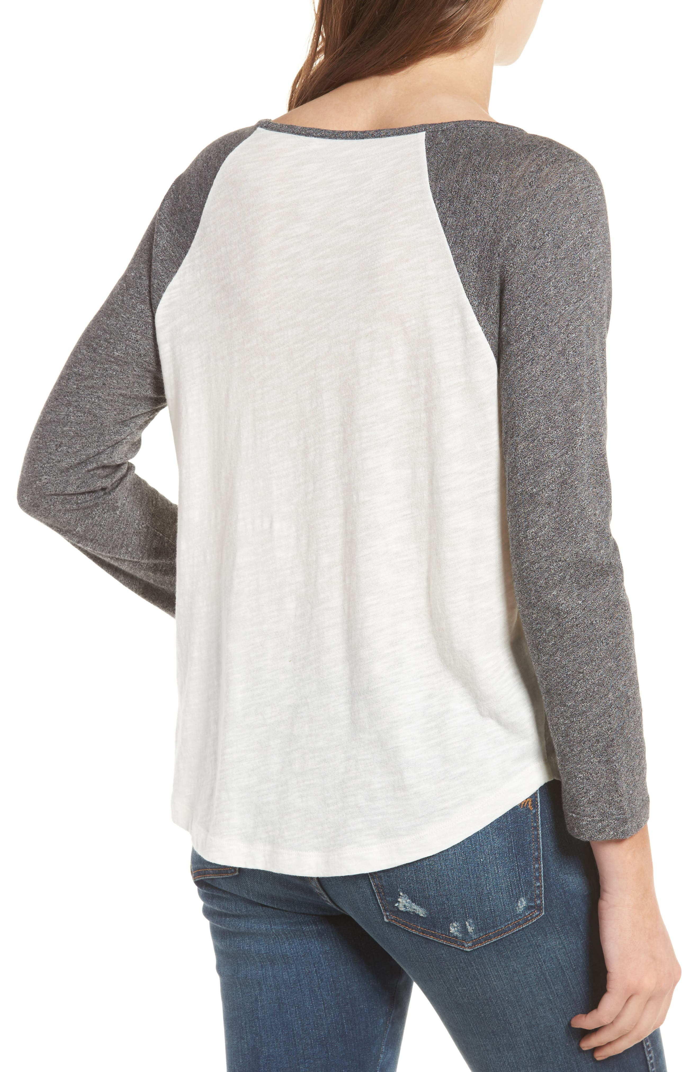 MADEWELL,                             Baseball Tee,                             Alternate thumbnail 2, color,                             021