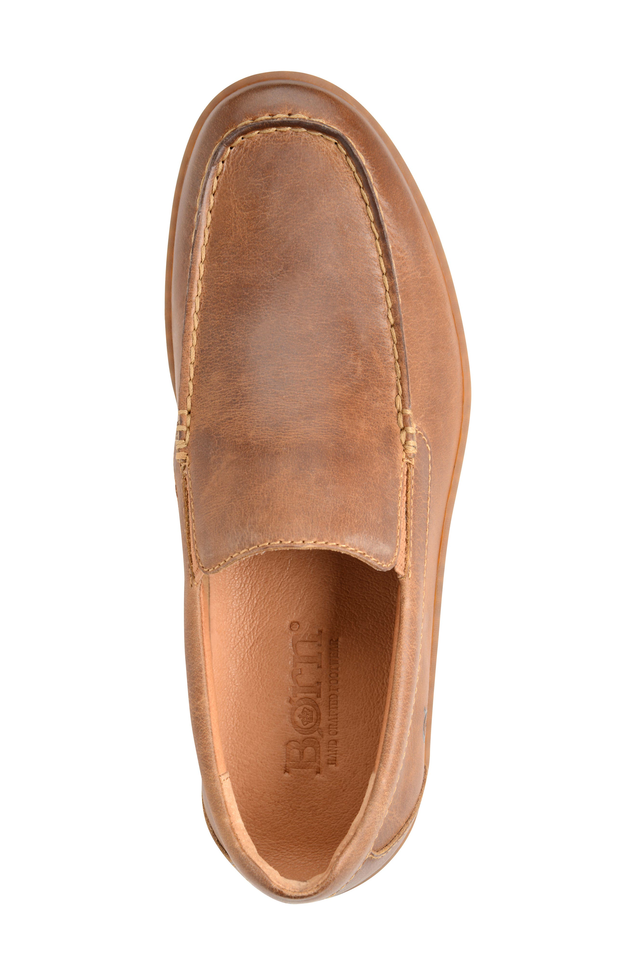 Brompton Loafer,                             Alternate thumbnail 3, color,                             NATURAL