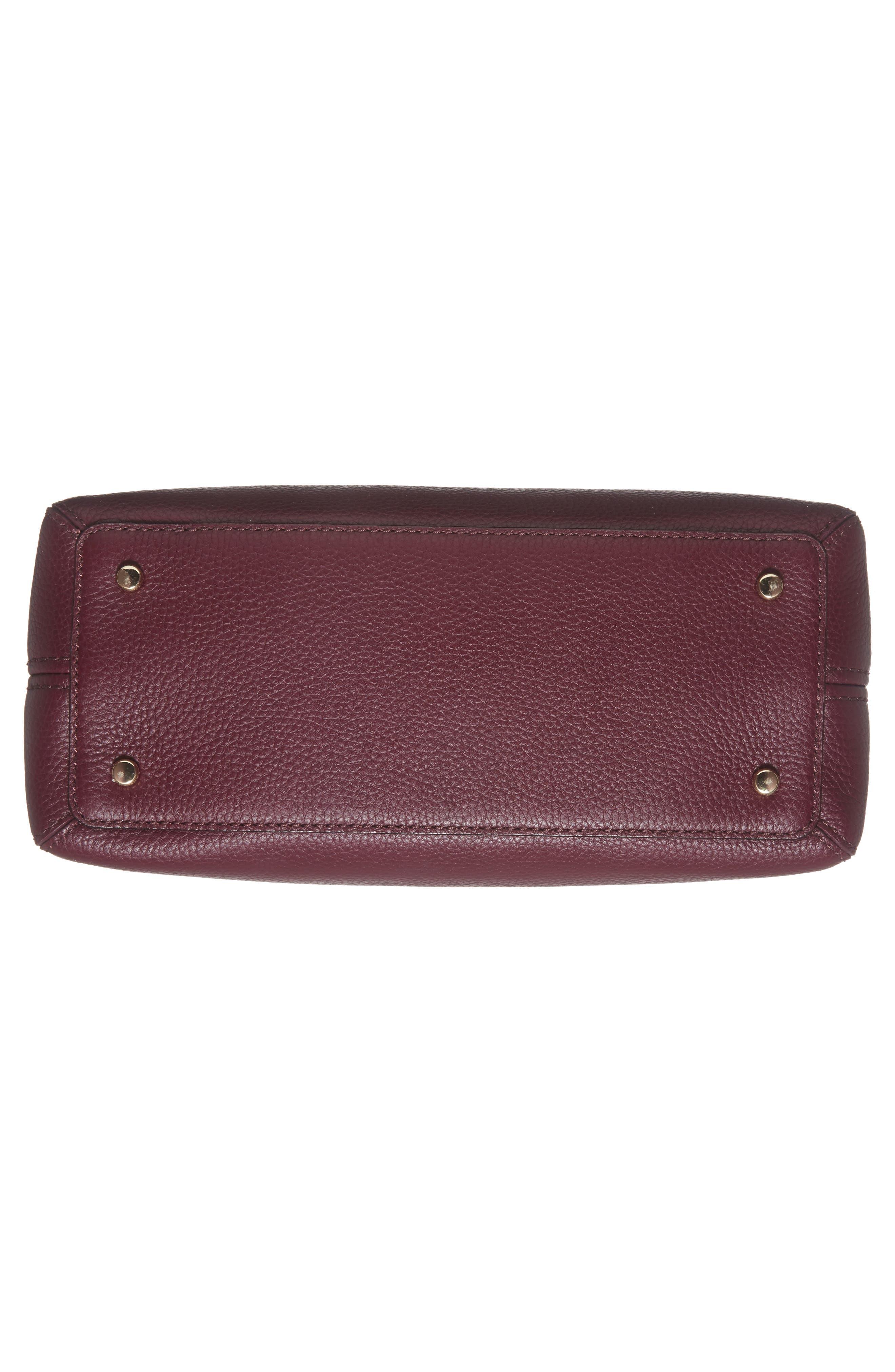 jackson street lottie leather satchel,                             Alternate thumbnail 18, color,