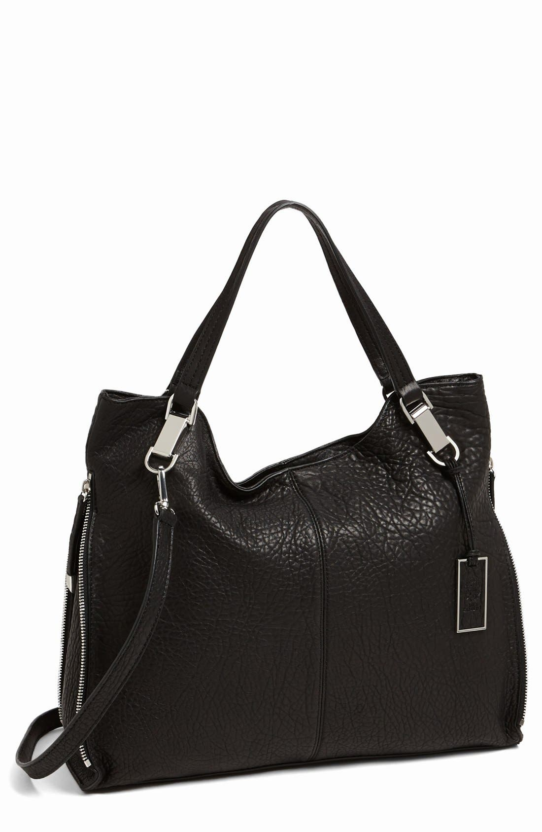 'Riley' Leather Tote,                             Main thumbnail 3, color,