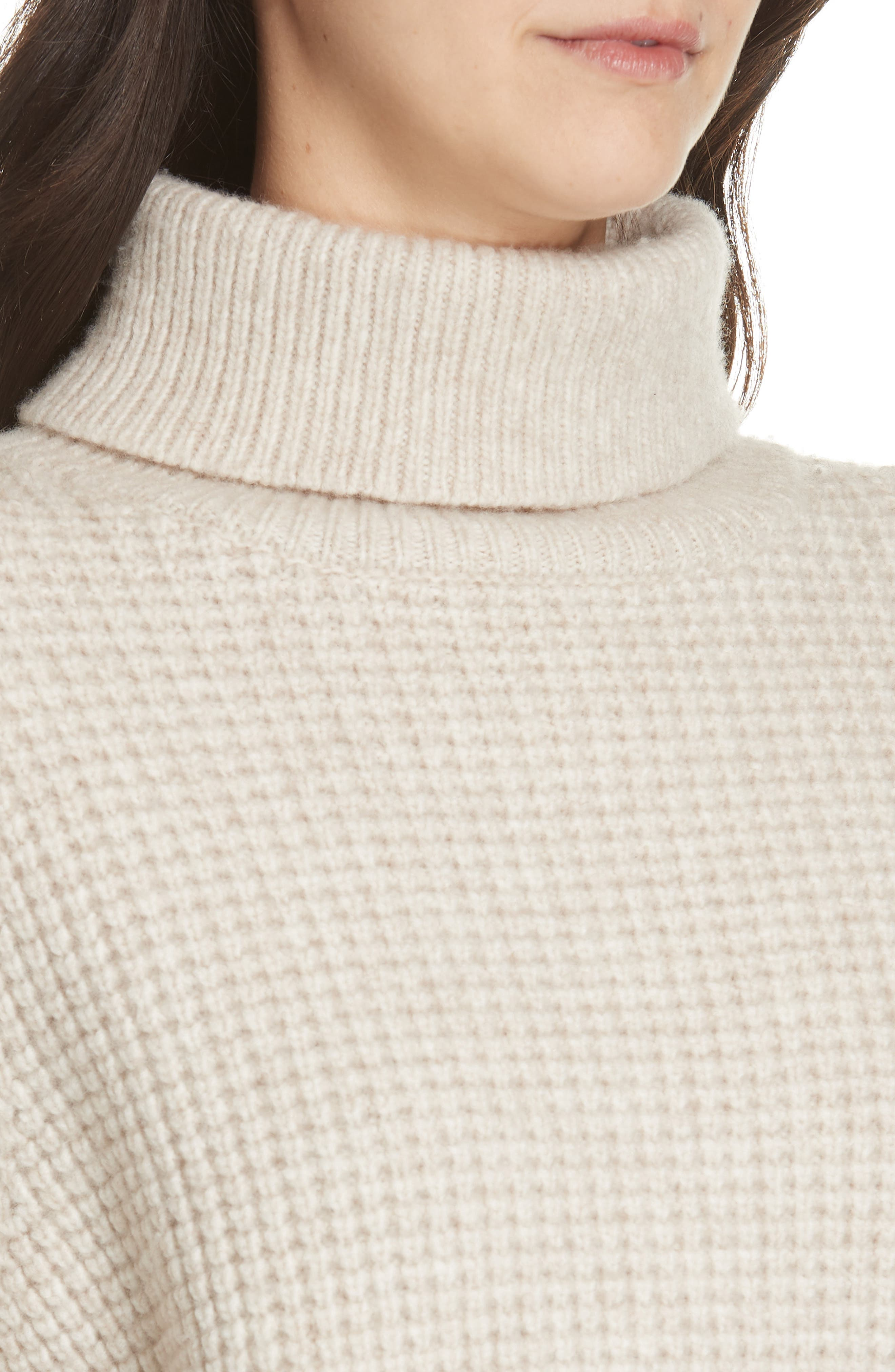 Seattle Turtleneck Sweater,                             Alternate thumbnail 4, color,                             OATMEAL