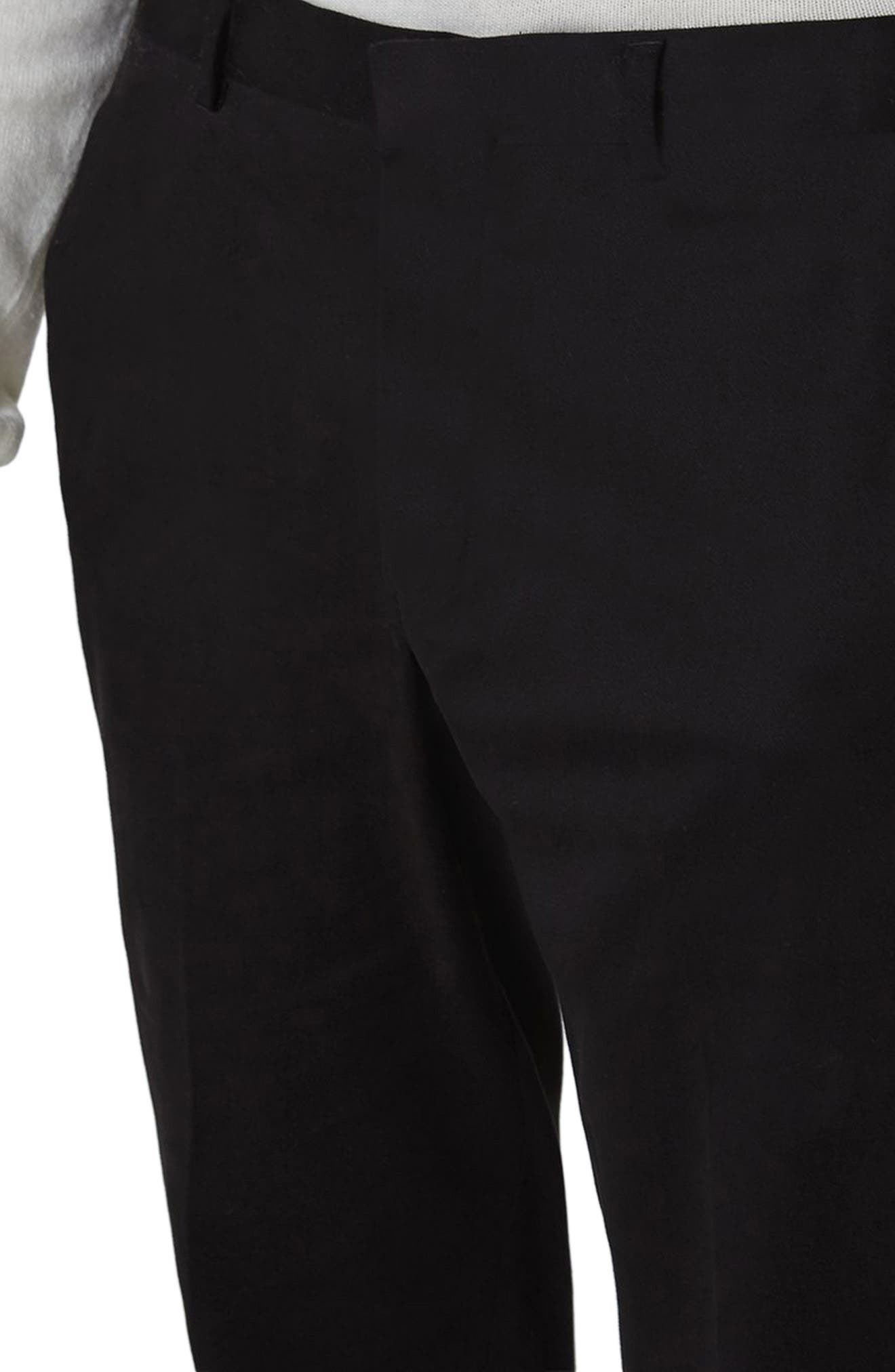 Twill Tapered Trousers,                             Alternate thumbnail 5, color,