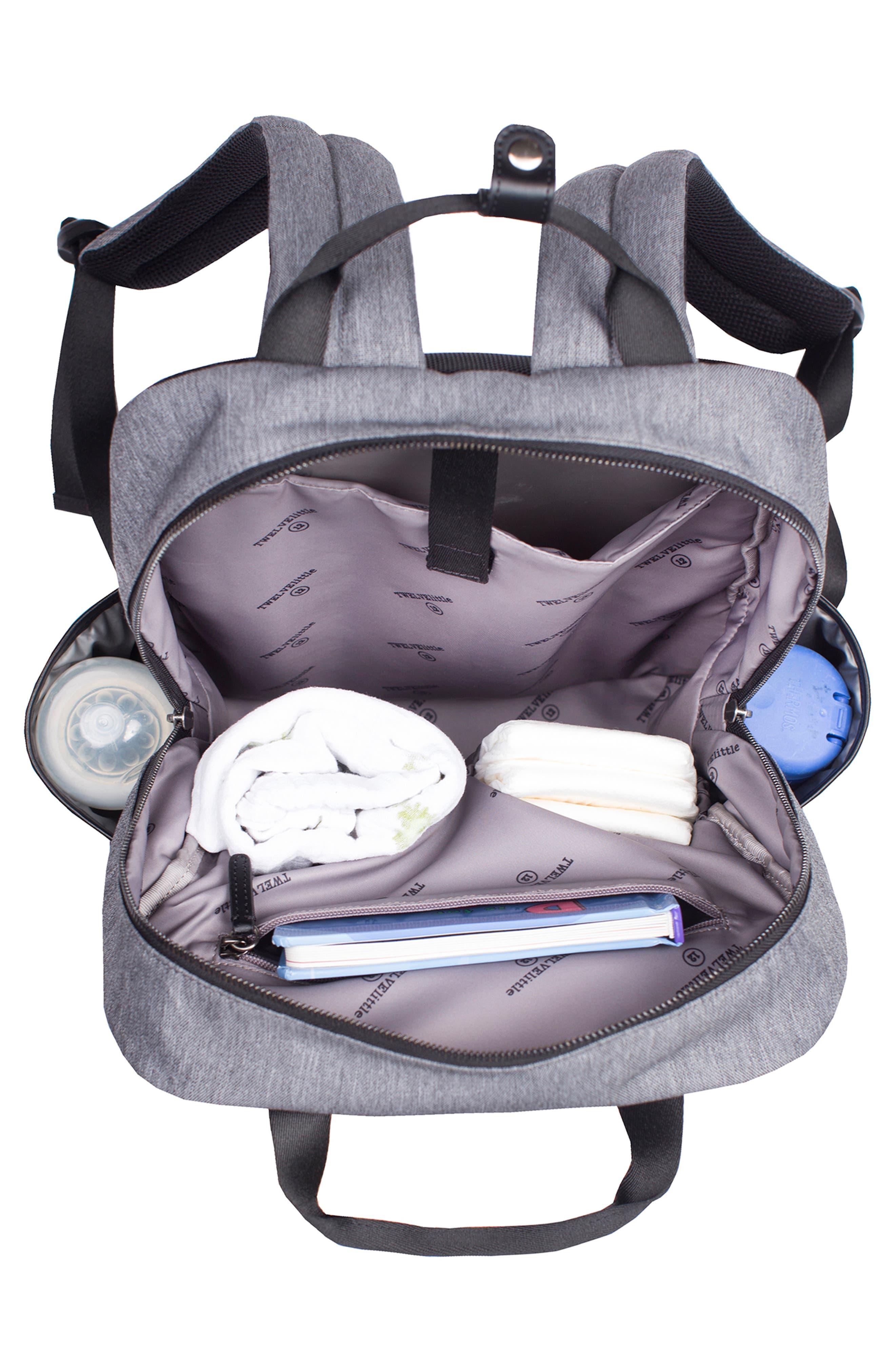 'Courage' Unisex Backpack Diaper Bag,                             Alternate thumbnail 2, color,                             020