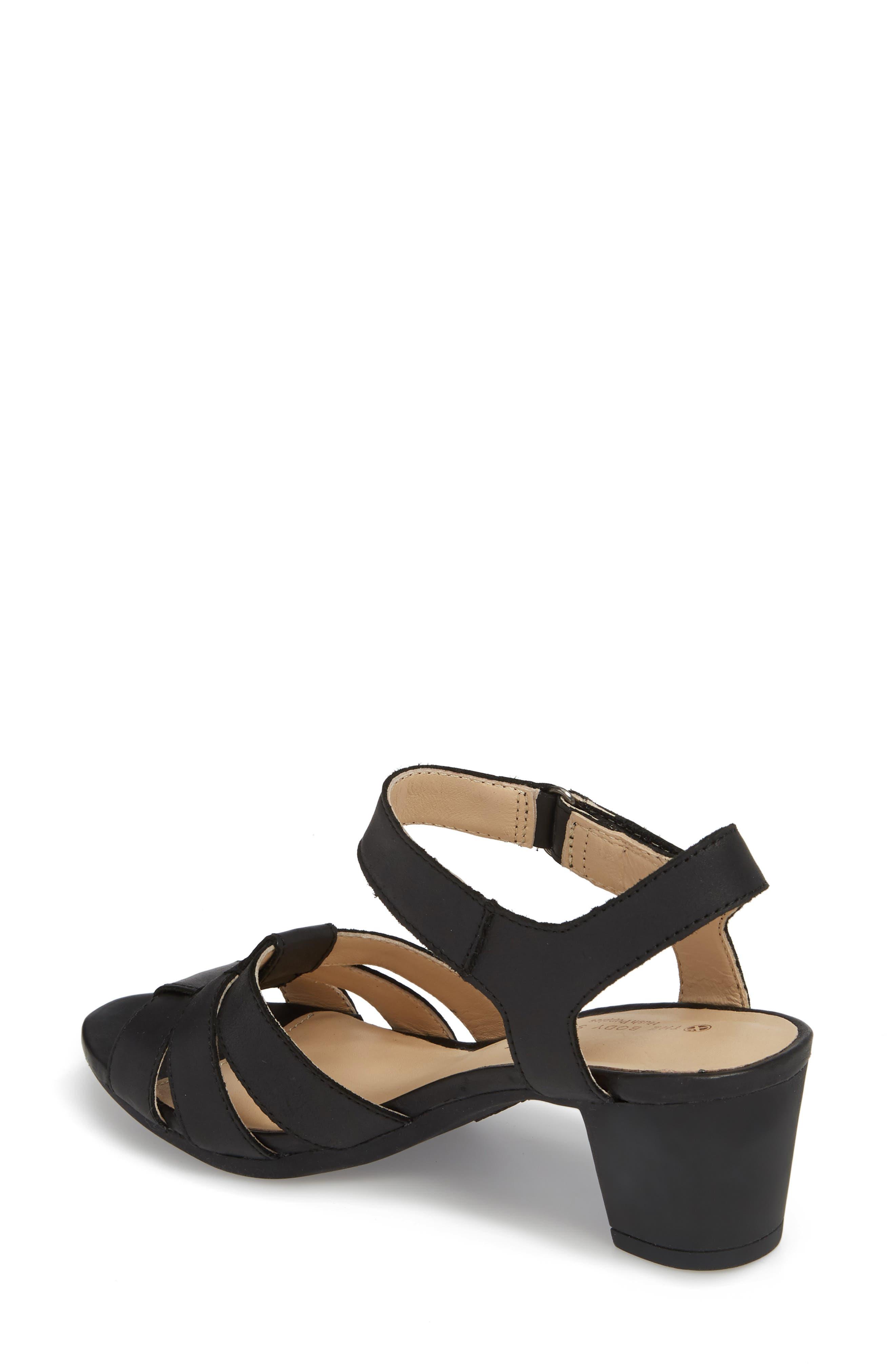 Masseter Quarter Strap Sandal,                             Alternate thumbnail 2, color,                             007