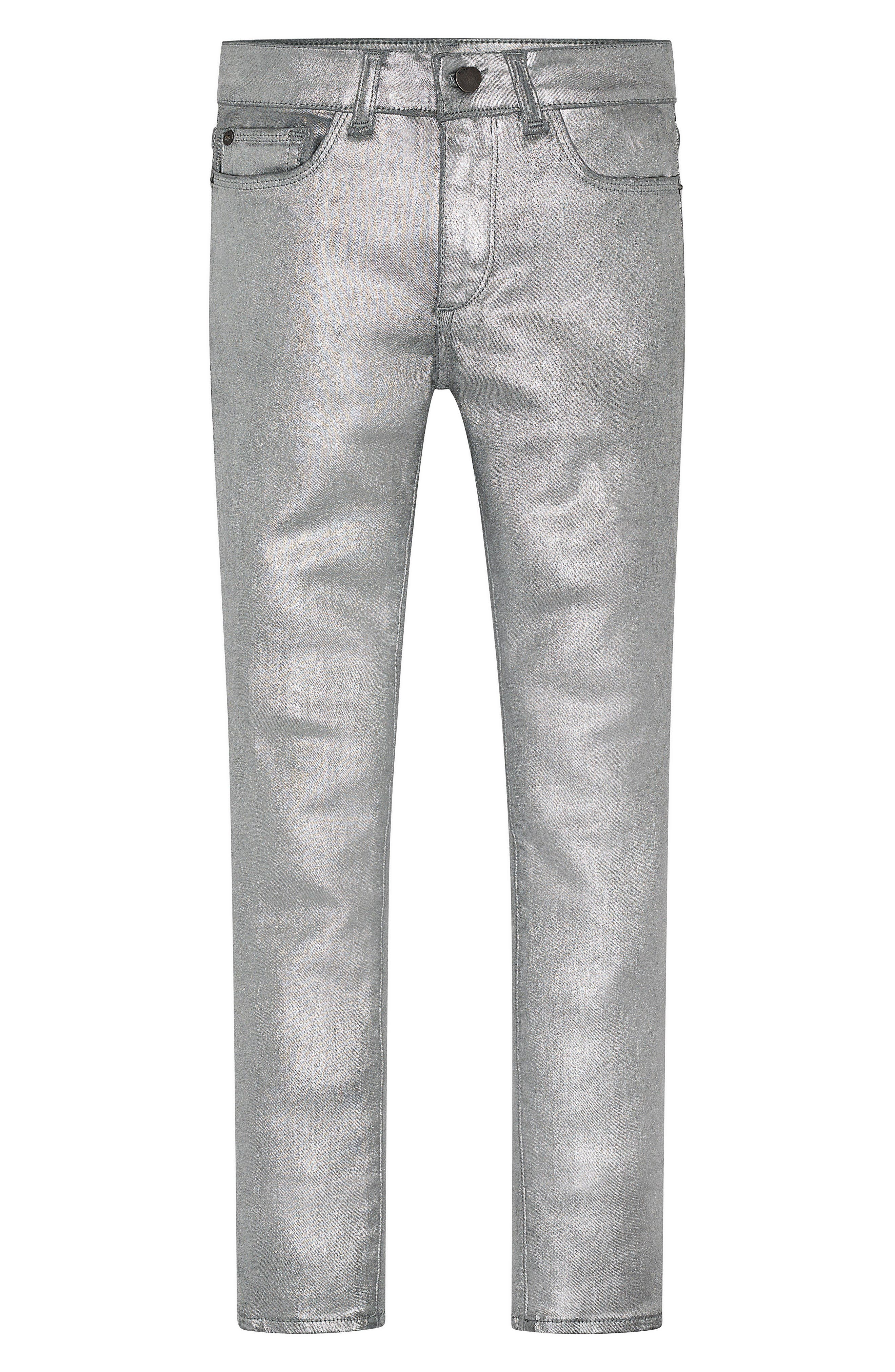 Chloe Coated Skinny Jeans,                         Main,                         color, 040