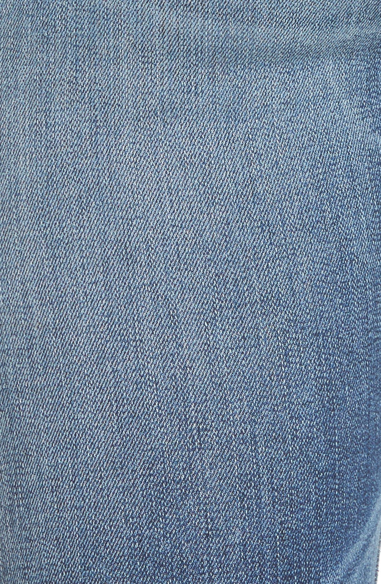 Ciara High Waist Skinny Jeans,                             Alternate thumbnail 9, color,