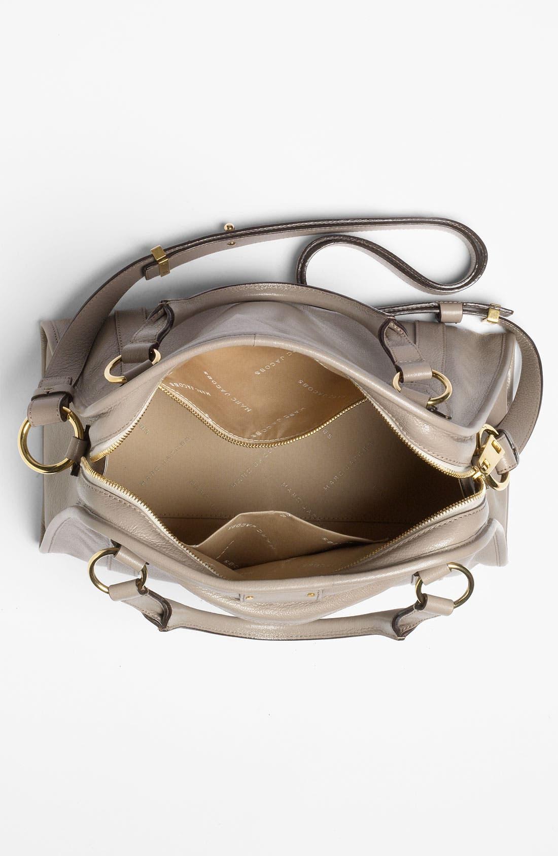 'Classic Wellington' Leather Satchel,                             Alternate thumbnail 36, color,